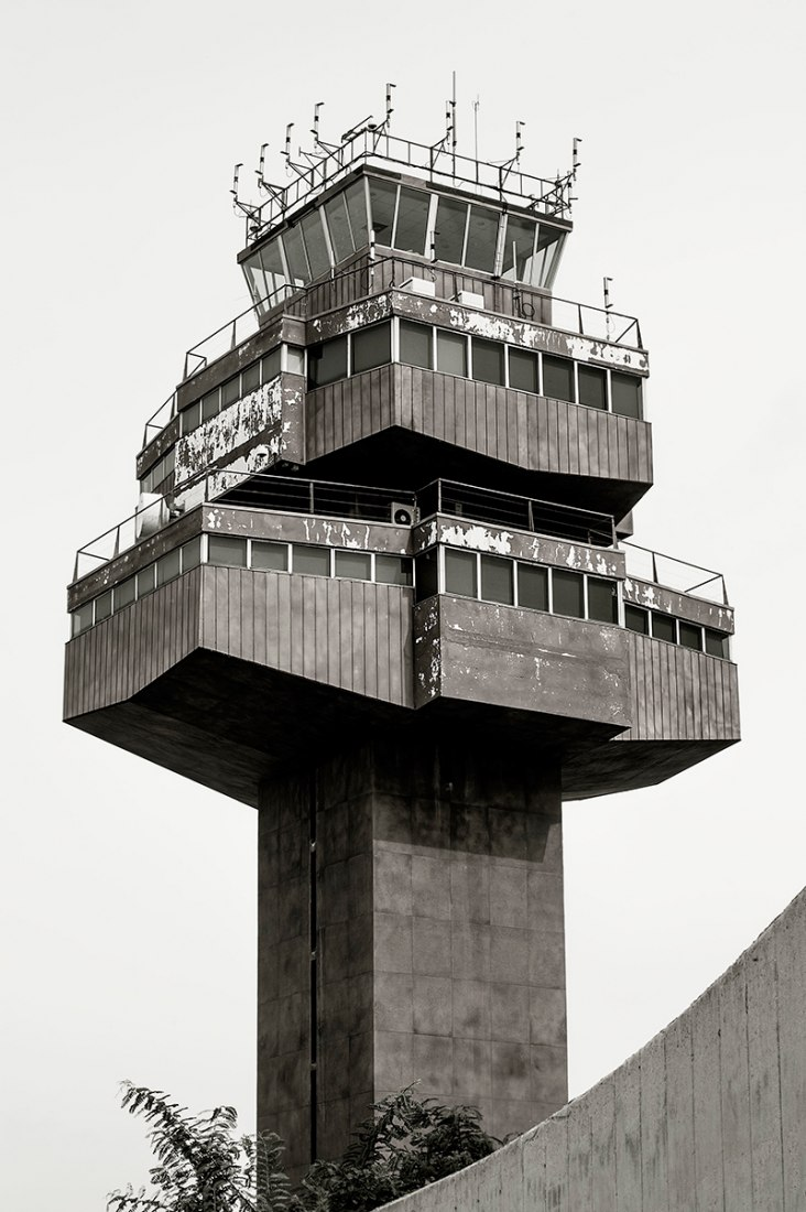 Tower of the Barcelona El-Prat Airport, Spain. Photography © Carolyn Russo, Smithsonian Books.