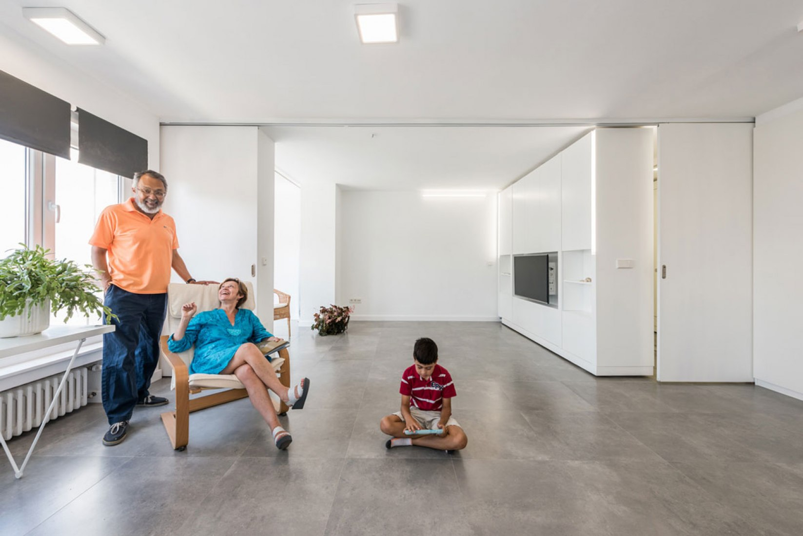 Interior. Casa MJE por PKMN. Fotografía © Javier de Paz García.