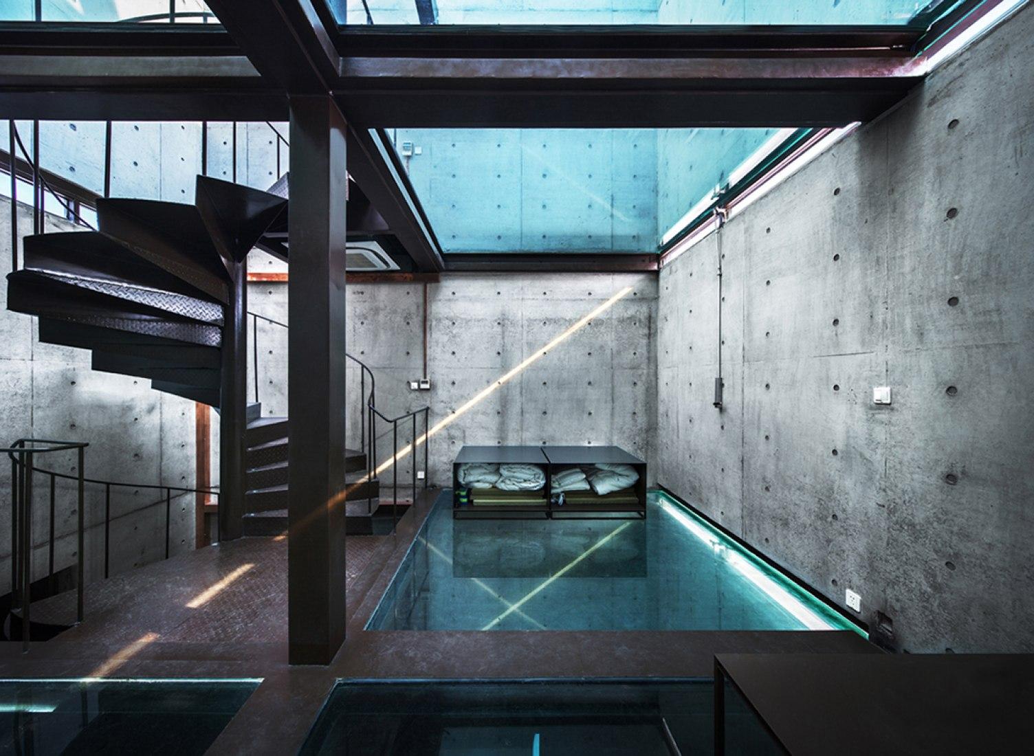 Interior. Image courtesy of Atelier FCJZ.