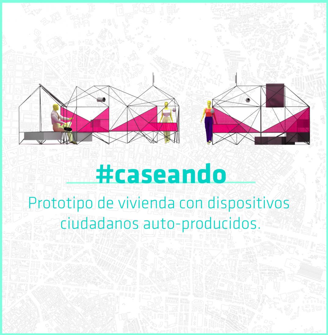 Caseando in Casa Encendida. Image cortesy of Vivero de Iniciativas Ciudadanas