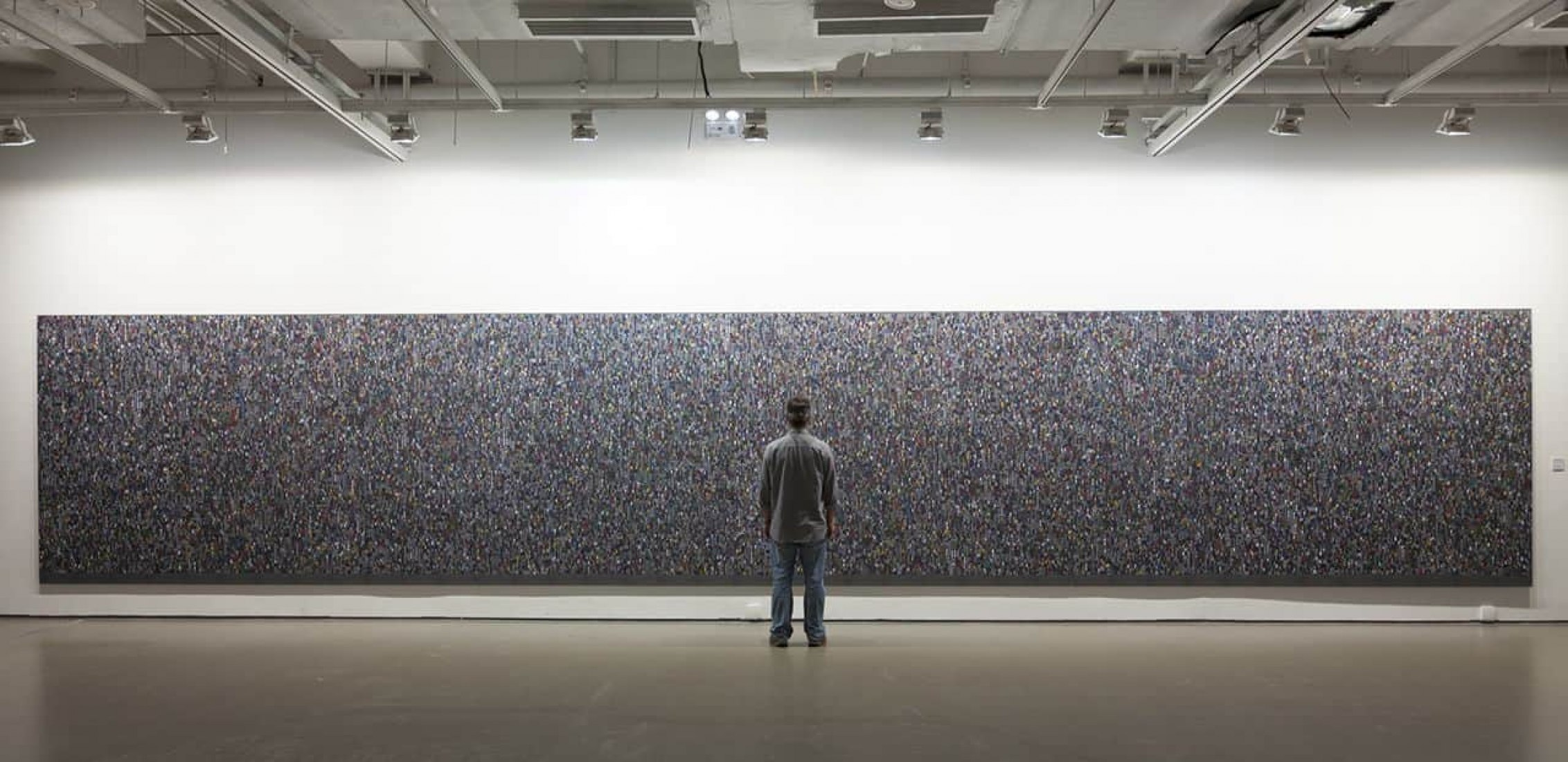Colectivos, exposición en Pekín 2013, por Cássio Vasconcellos.