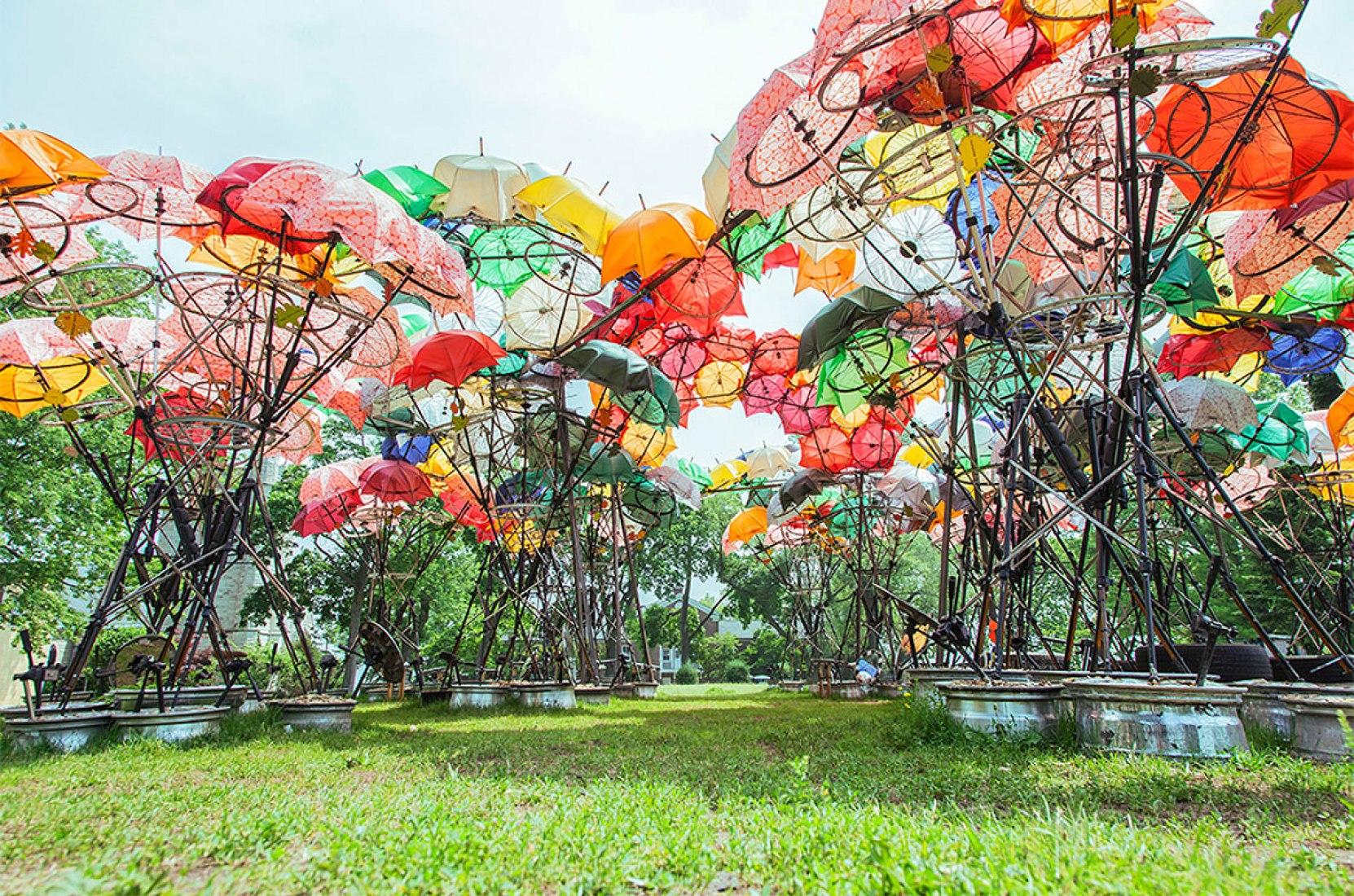Organic Growth Pavilion by Izaskun Chinchilla Arquitectos. Photography © Sergio Reyes.