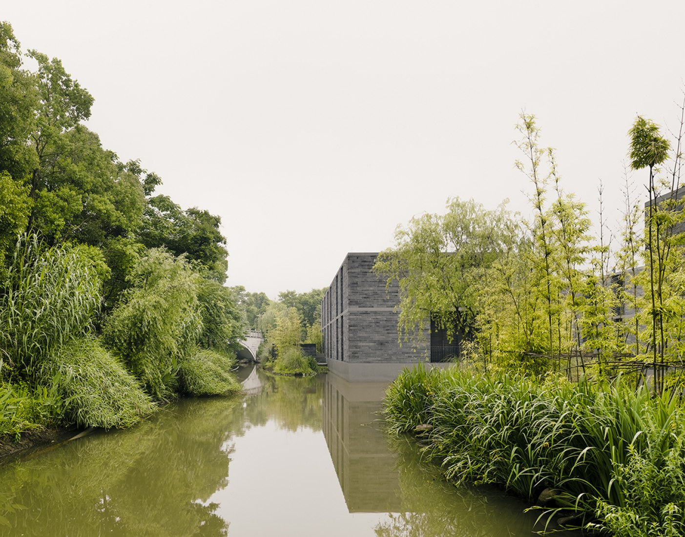 Exterior. Xixi Wetland Estate by David Chipperfield Architects. Photography © Simon Menges.