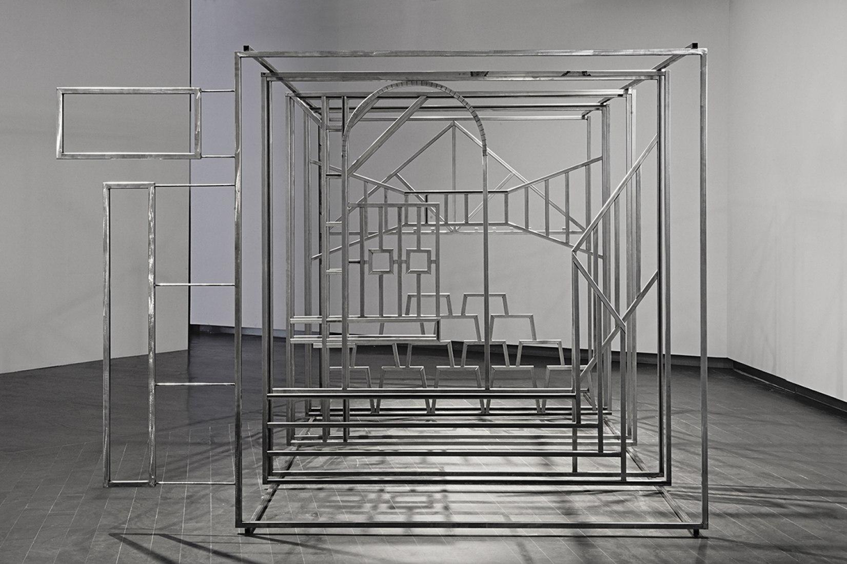 Javier Peña Inbáñez. Scene. Structure. Iron. Photography © Asier Rúa.