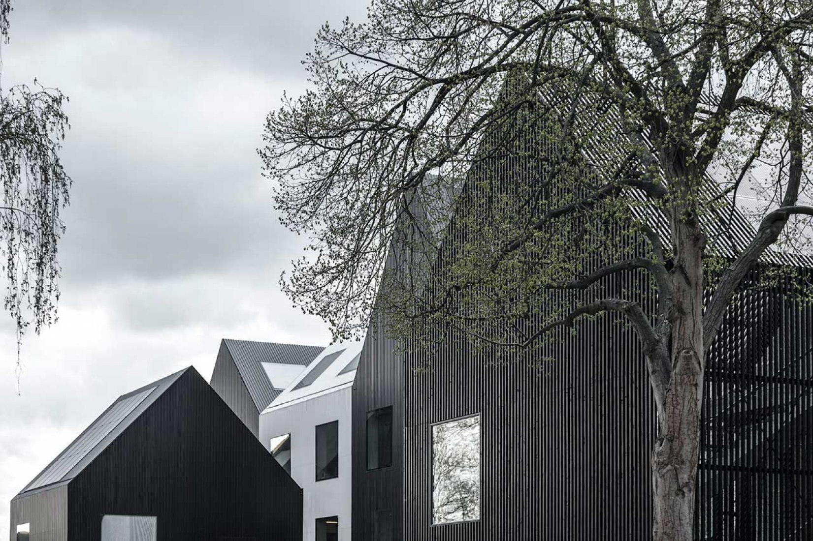 New kindergarten in Copenhagen by COBE Architects. Photograph © Rasmus Hjortshøj, Coast Studio.