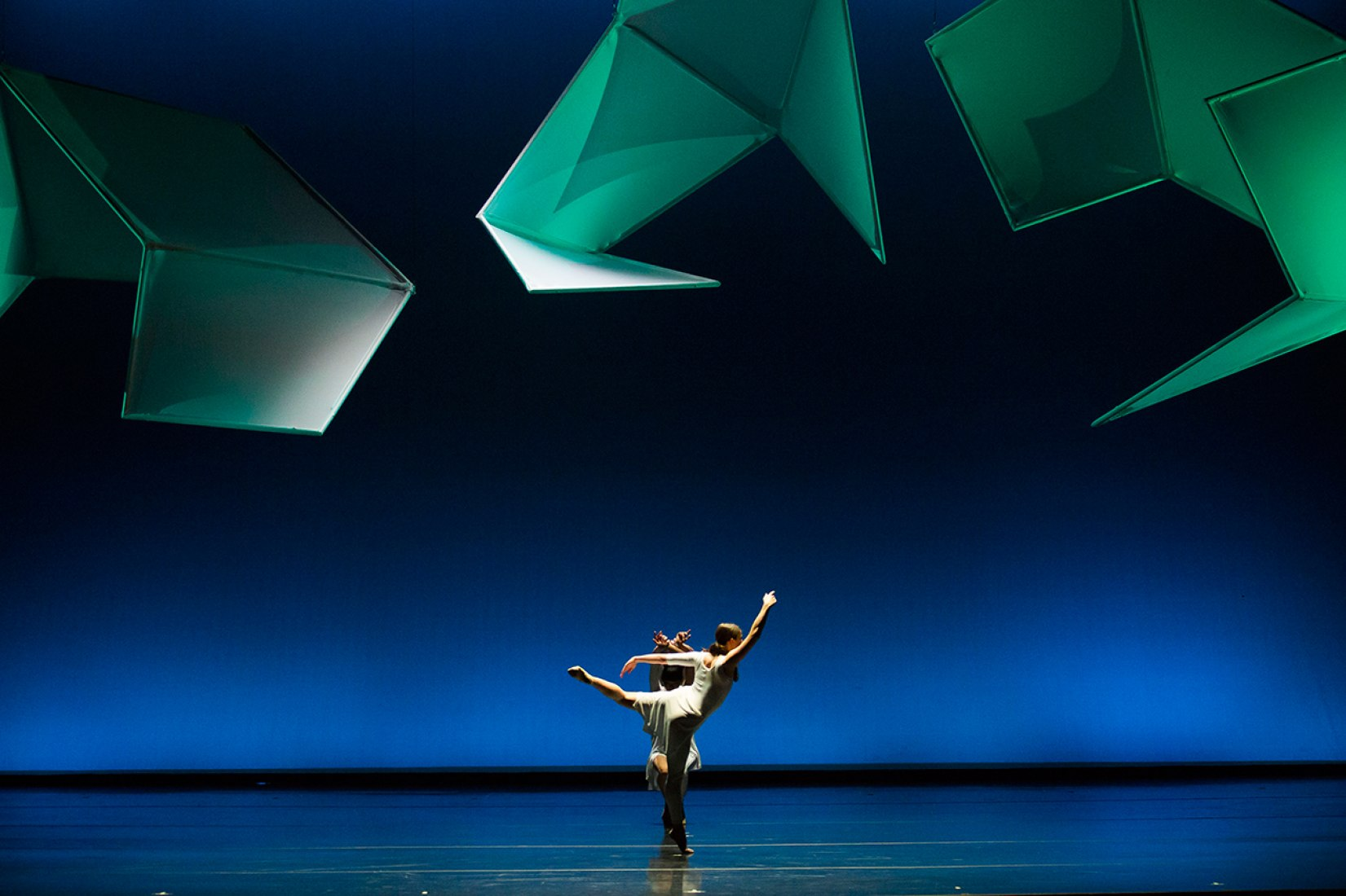 Jessica Lang bailando en