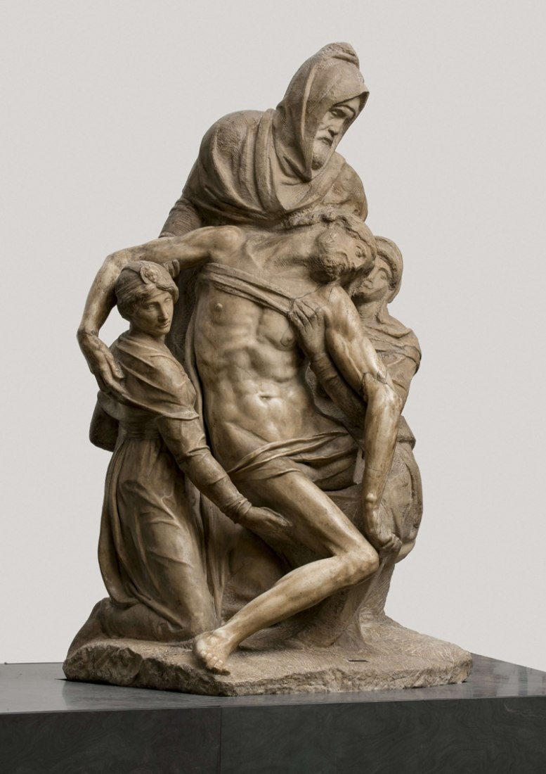 Baldini Pietà by Miguel Ángel at new Museo dell'Opera del Duomo of Florence. Photography @ Antonio Quattrone.
