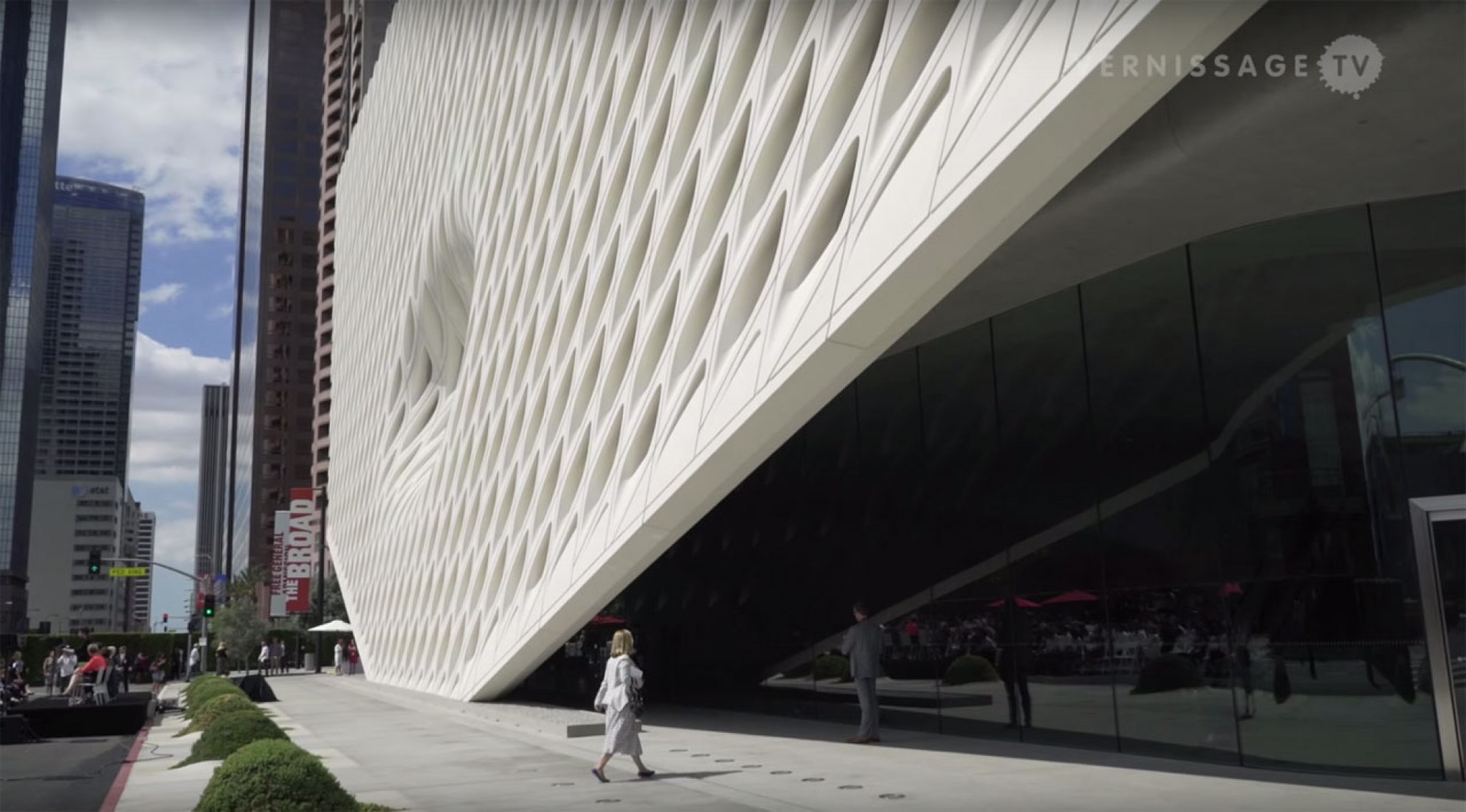 The Broad by Diller Scofidio + Renfro. Video screenshot