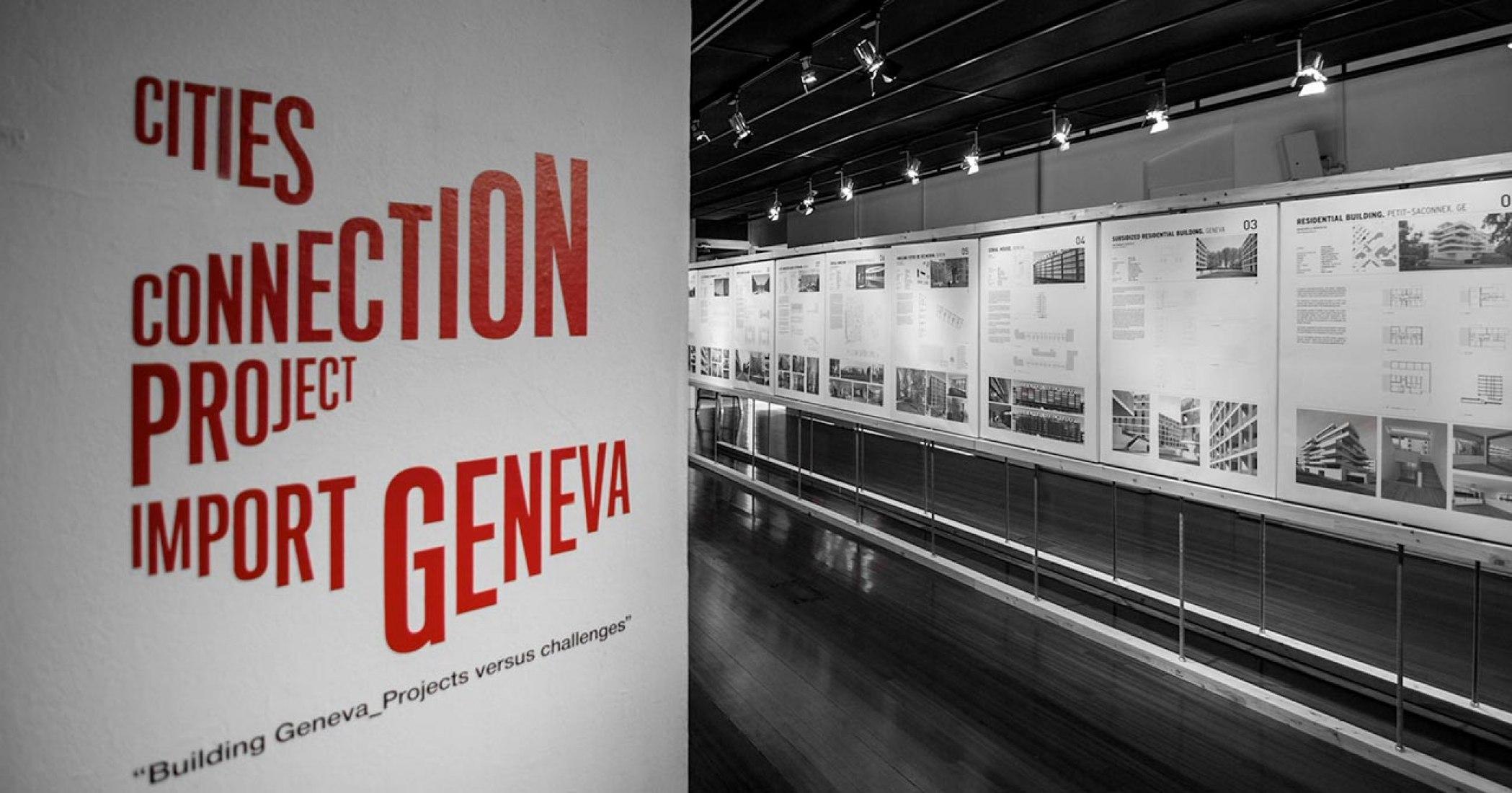 Exposición. Imágenes en Arts Santa Mònica. CITIES CONNECTION Project.