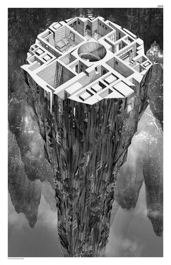 """Mención de honor. """"Allegories of Home"""" por Zabie Mustafa y Neda Kakhsaz. Fairy Tales 2015. Cortesía de Blank Space."""