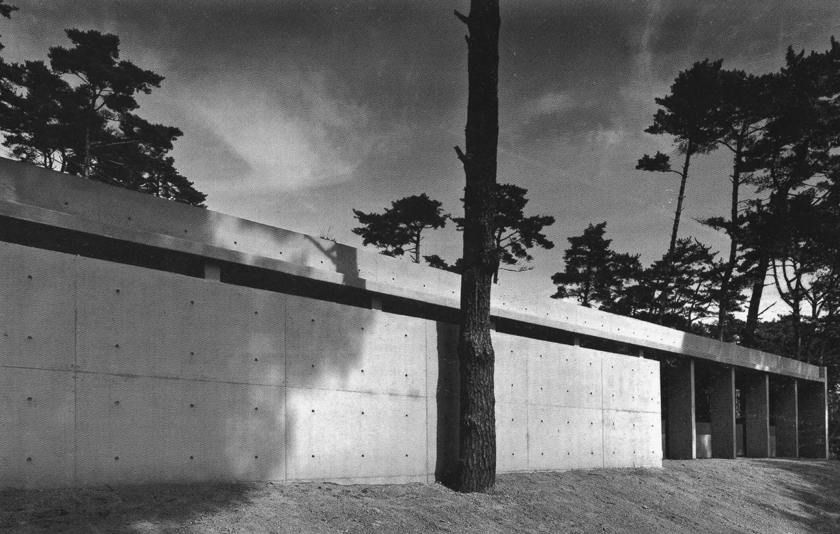 ANDO, TADAO. Casa Koshino. Ashiya (Japón). © Tadao Ando, Architect & Associates.