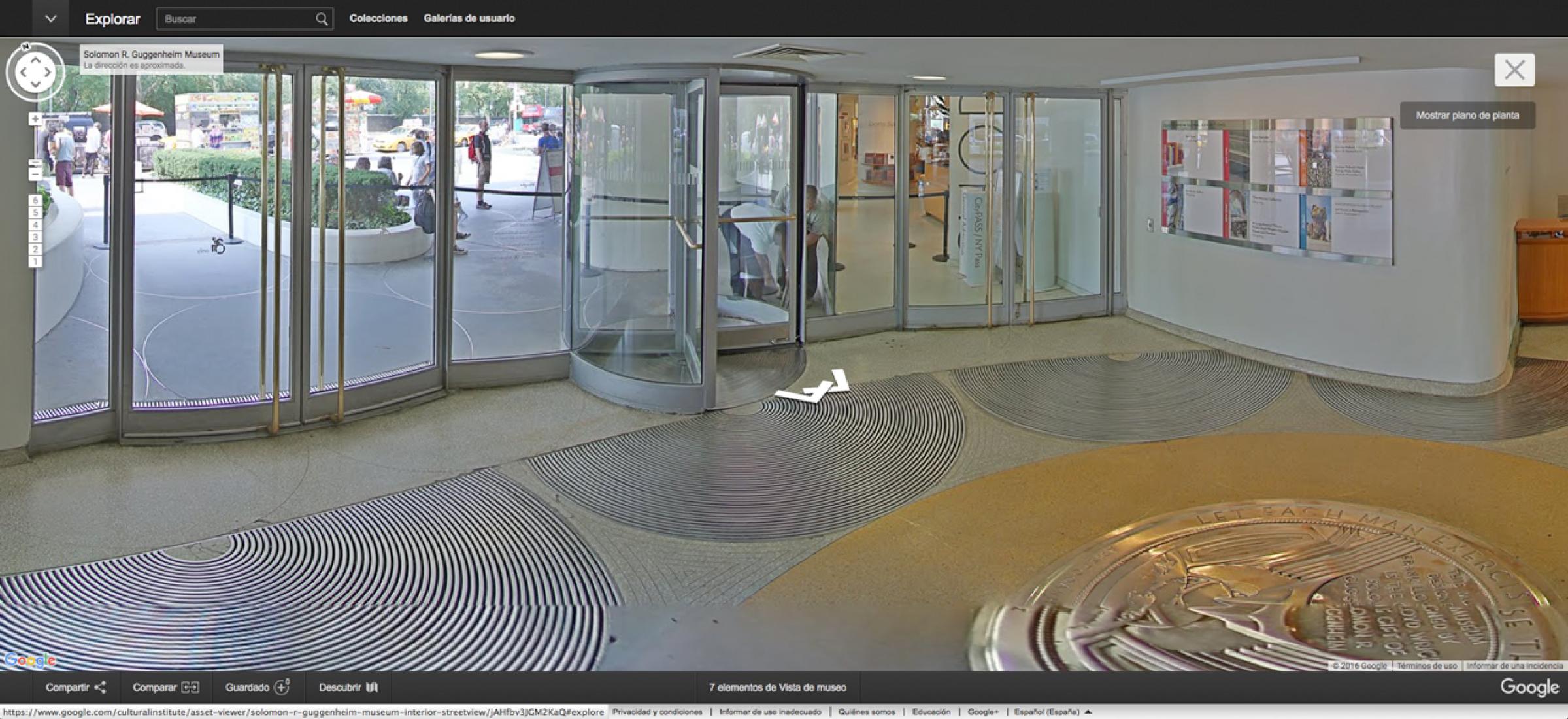 Google Art Project, Guggenheim. Vista de la instalación: Storylines: Contemporary Art at the Guggenheim, Solomon R. Guggenheim Museum, Nueva York, 5 de Junio–9 Septiembre, 2015. Imagenes © Museo Solomon R. Guggenheim, Nueva York.