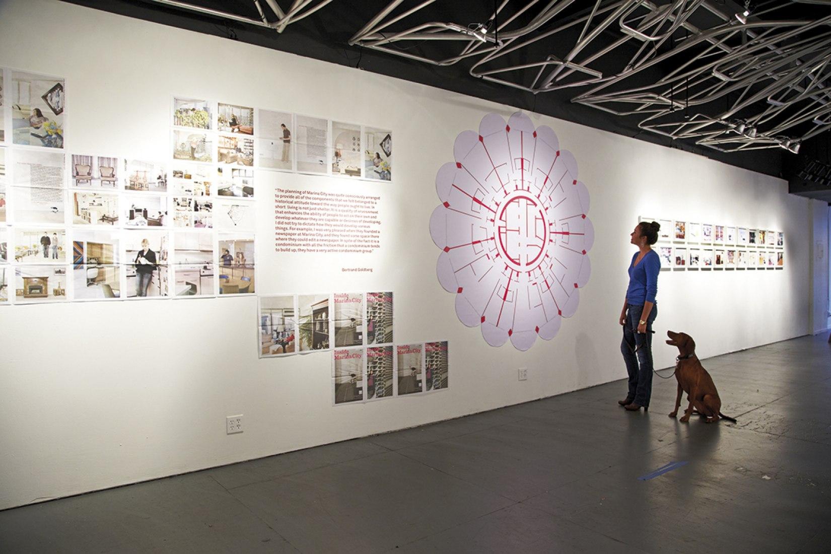 Exposición Inside Marina City, galería WUHO, Los Angeles, 2012. Fotografía © Andreas E.G. Larsson