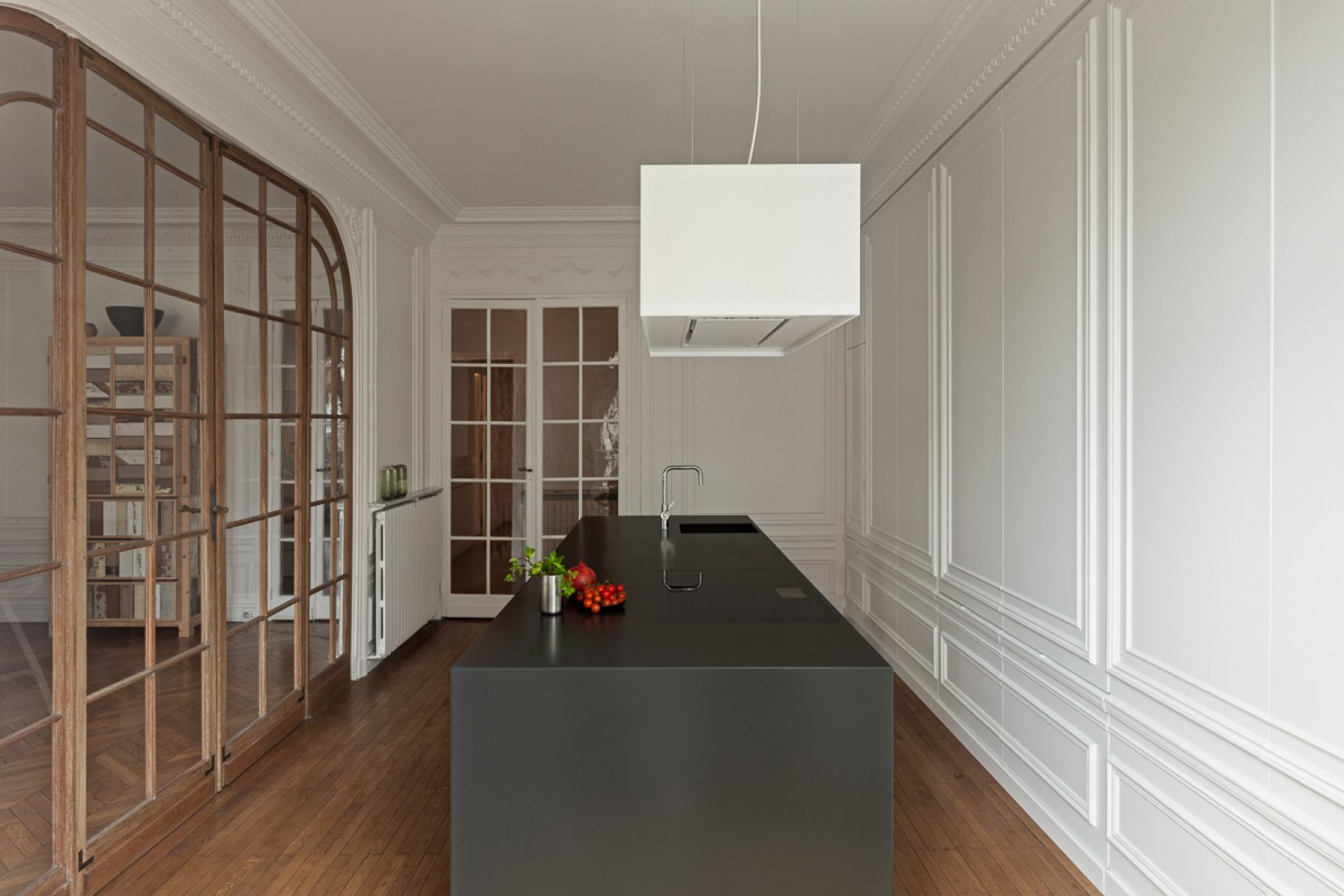 Invisible kitchen by i interior architects the strength of