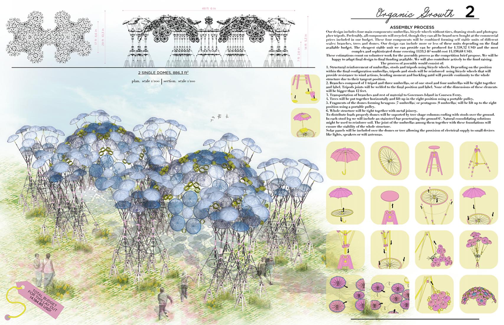 Panel 2. Propuesta para la 2015 City of Dreams Pavilion Competition por Izaskun Chinchilla. Imagen © cortesía de Izaskun Chinchilla.