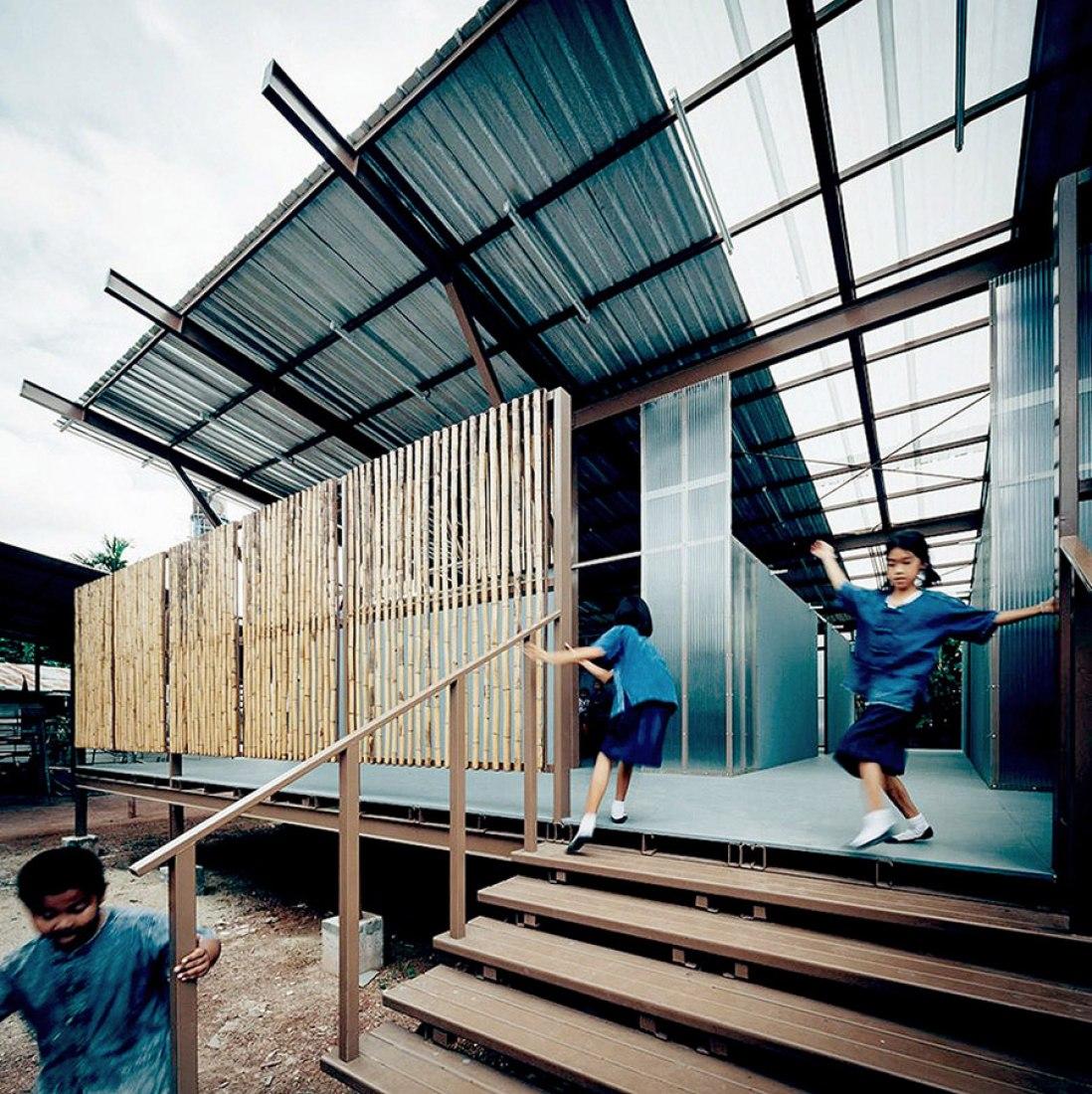 Baan Honghua school by Jun Sekino. Photograph © Spaceshift Studio.