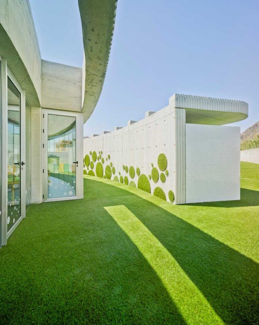 Nursery School 'La Monsina' by Alexandre Marcos Olivares (AMO arquitectura) and Angel Luis Rocamora Ruiz. Photograph © David Frutos.