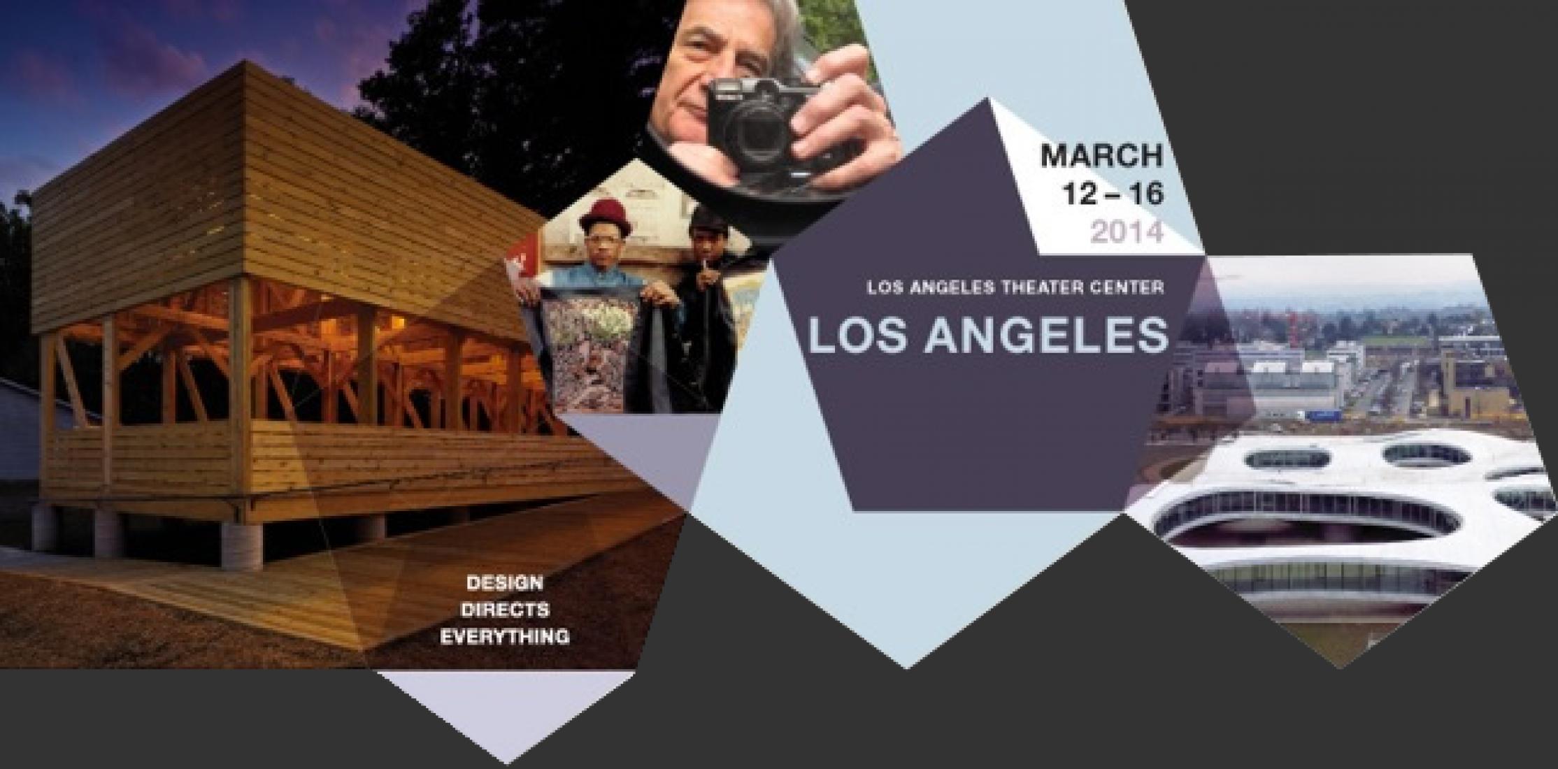 Cartel.Festival de Cine de Arquitectura y Diseño. Film Festival. Los Ángeles 2014.