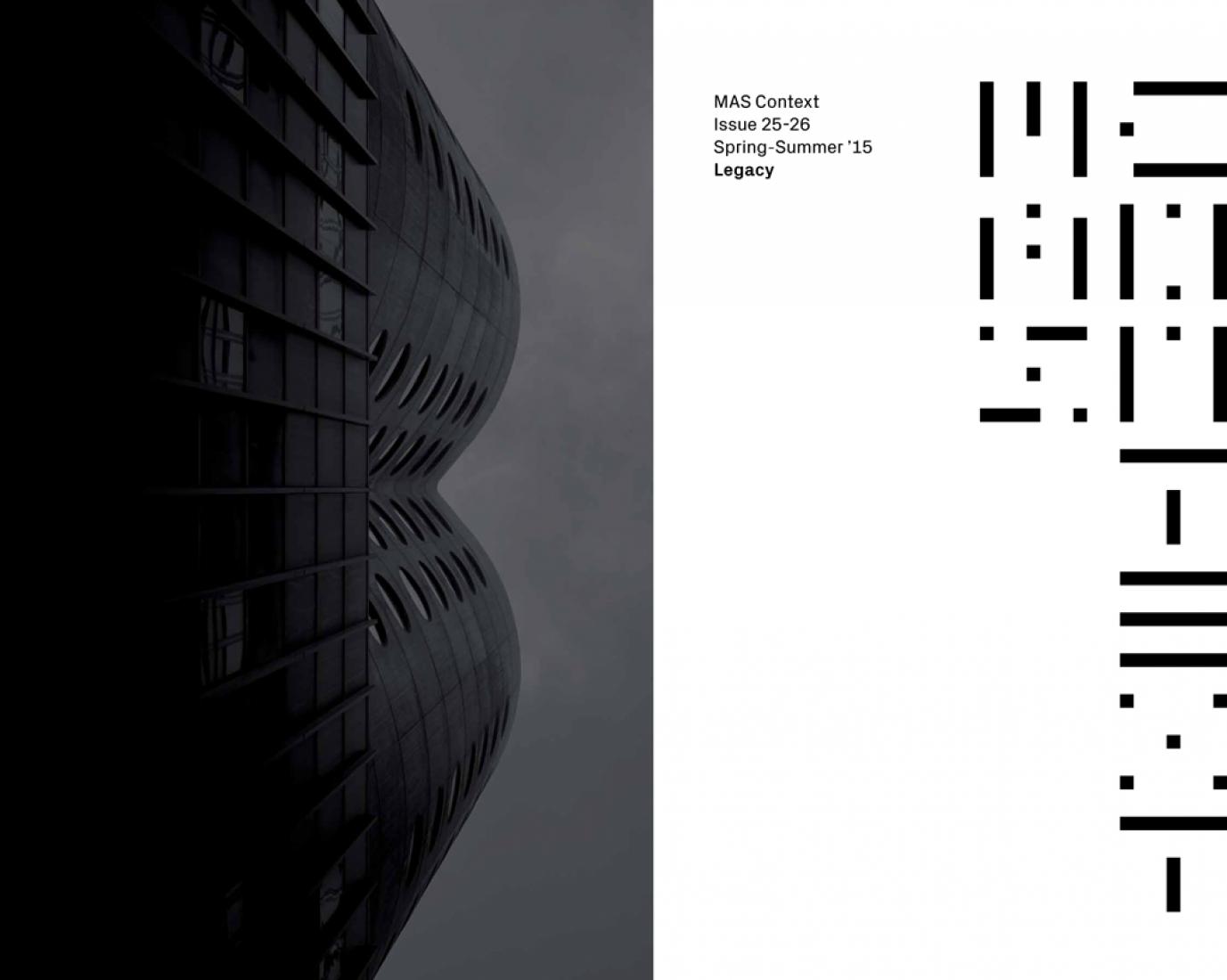 Paginas interiores del Número 25-26 de la revista Mas Context. Imagen cortesía de Mas Context.