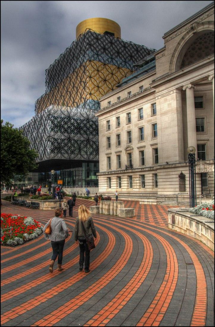 Nueva Biblioteca de Birmingham RU, por Mecanoo.