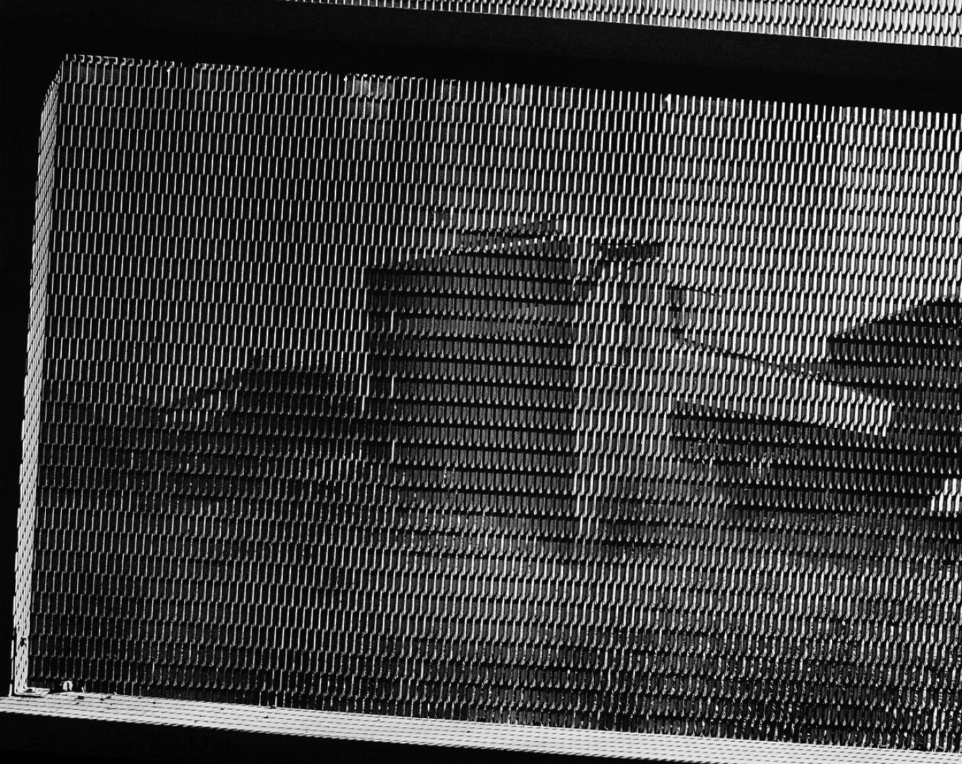 CSR Series, Port Waratah, From Conveyor Tower, 1981. Silver gelatin print, 29 x 33 in. Courtesy Rosamund Felsen Gallery. Photography © Grant Mudford.