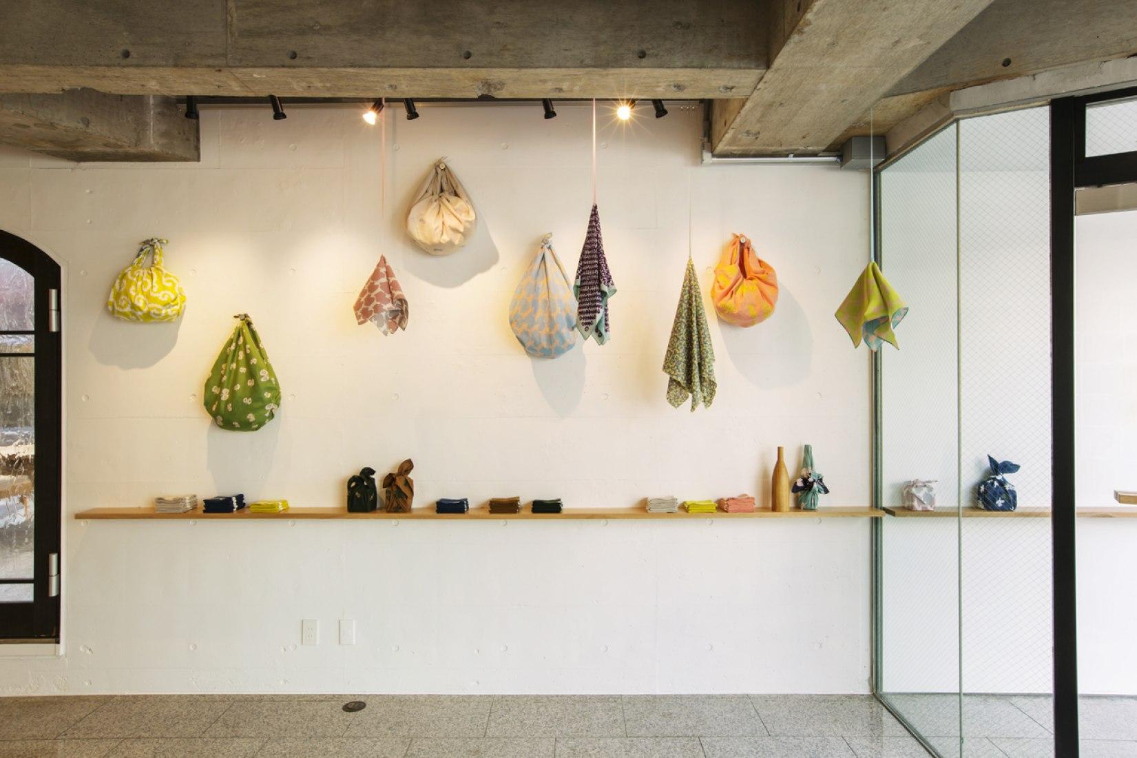 Interior View of Musubi, redesigned by Torafu Architects. Photography © Fuminari Yoshitsugu.