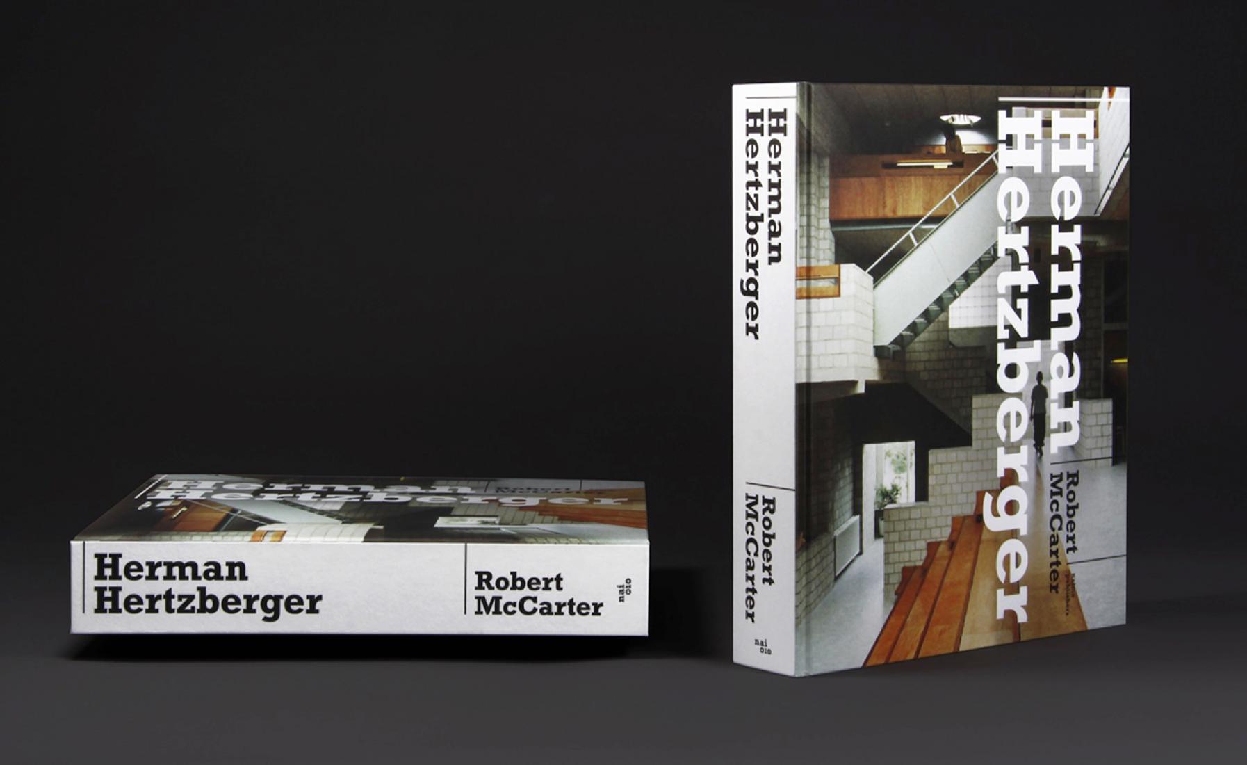 Portada. Herman Hertzberger por Robert McCarter. Imagen © Beukers Scholma.