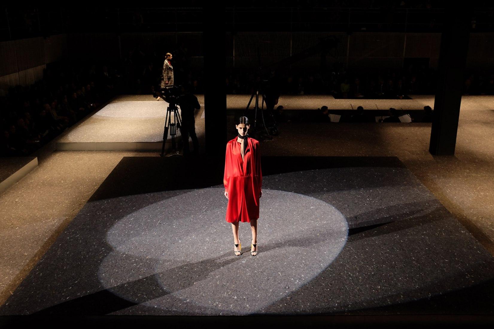 Prada Pasarela Hombre / Mujer SD 2014, Milán, Italia, 2014. Fotografía © Miguel Taborda / OMA.
