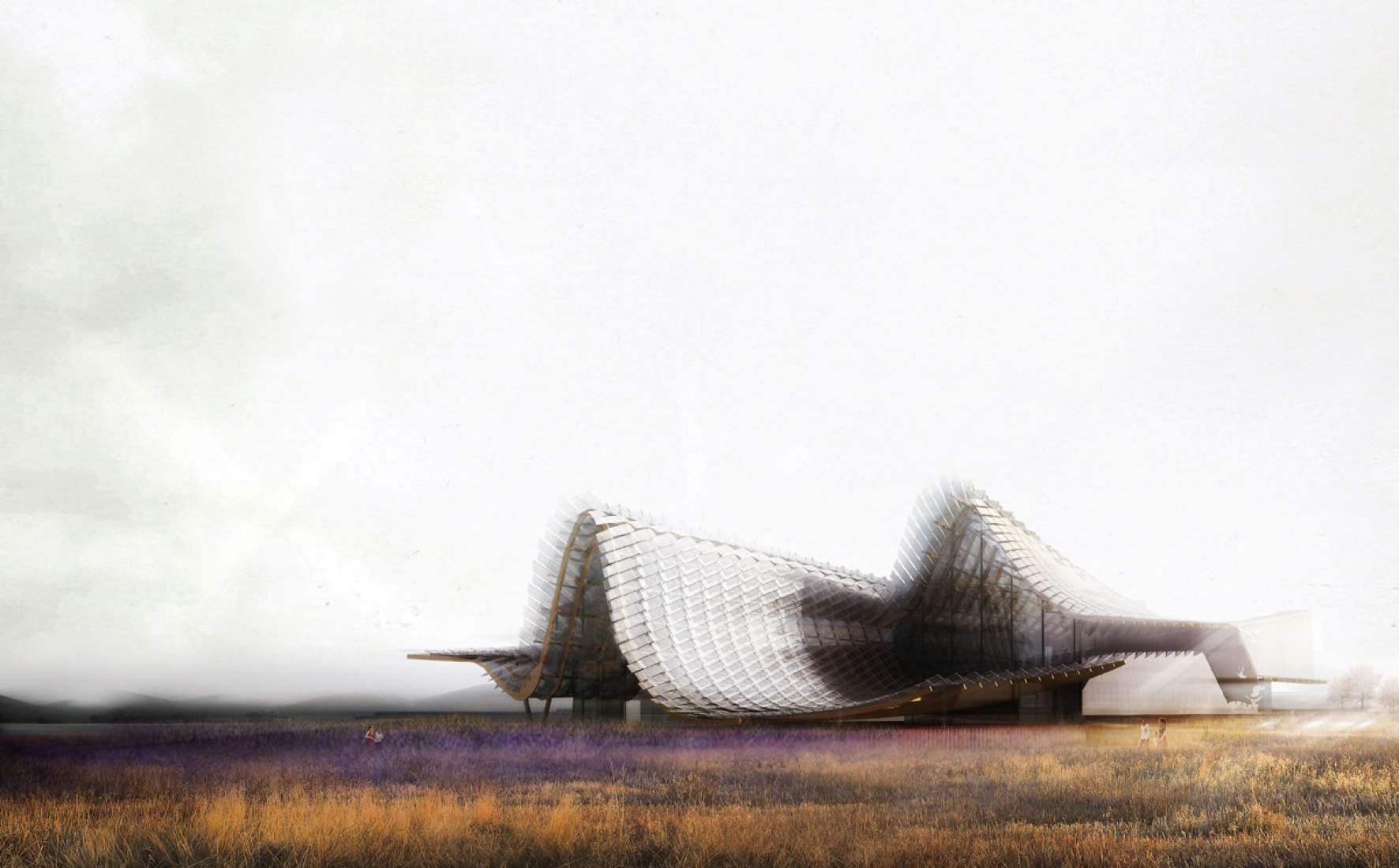 China Pavilion for Expo Milano 2015 by Studio Link-Arc.