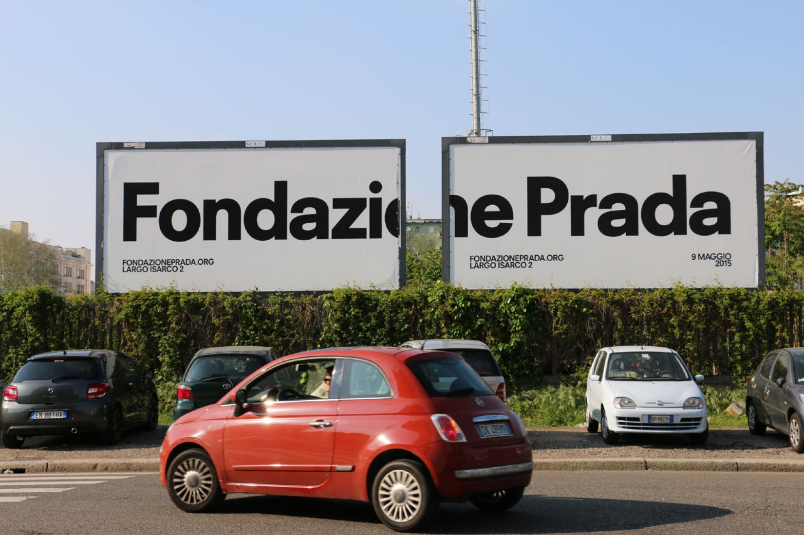 Prada Foundation, Milan. Photograph © José Juan Barba.
