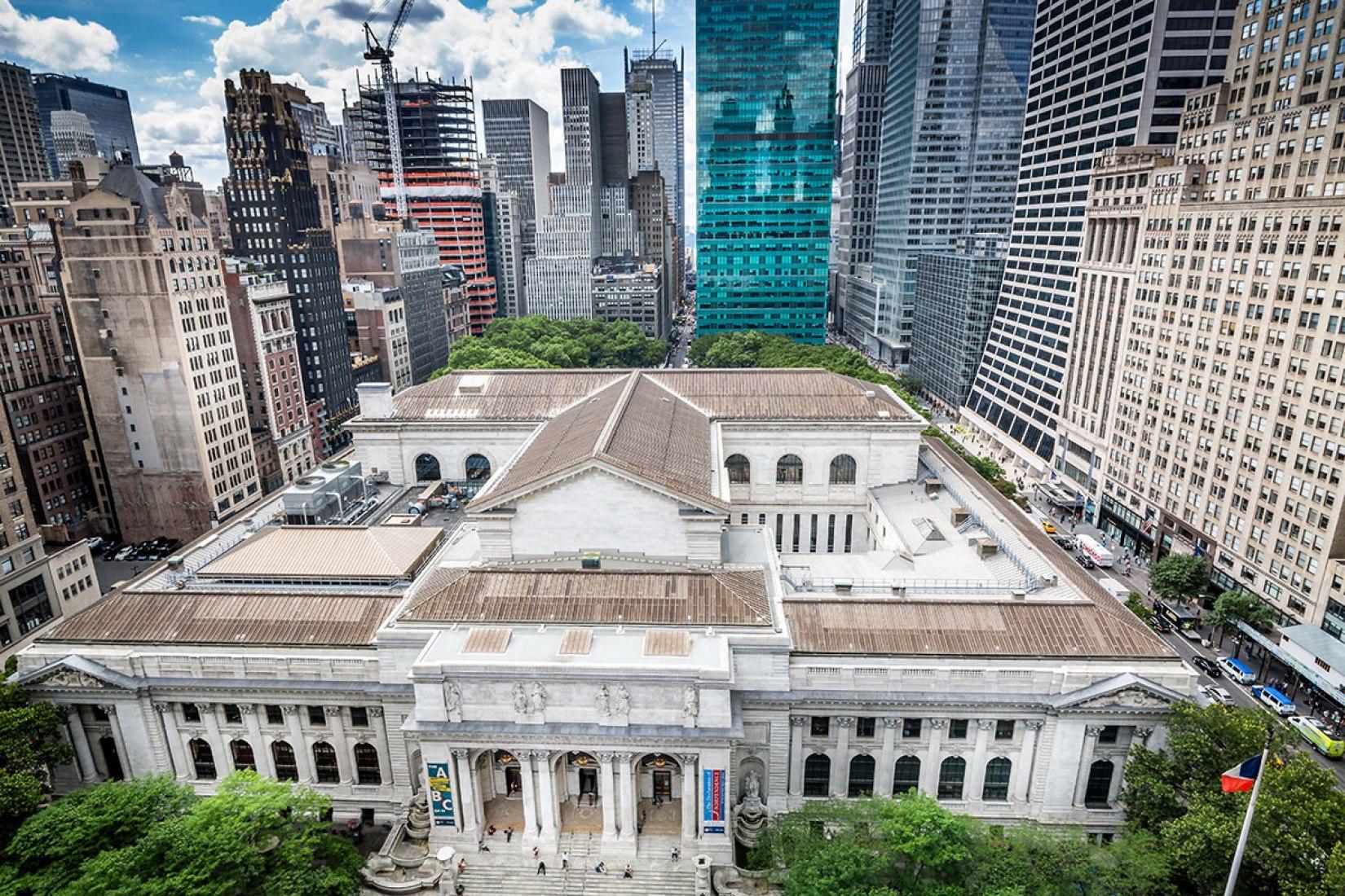 Vista general del edificio Stephen A. Schwarzman. Fotografía © Jonathan Blanc. Imagen cortesía de Mecanoo.