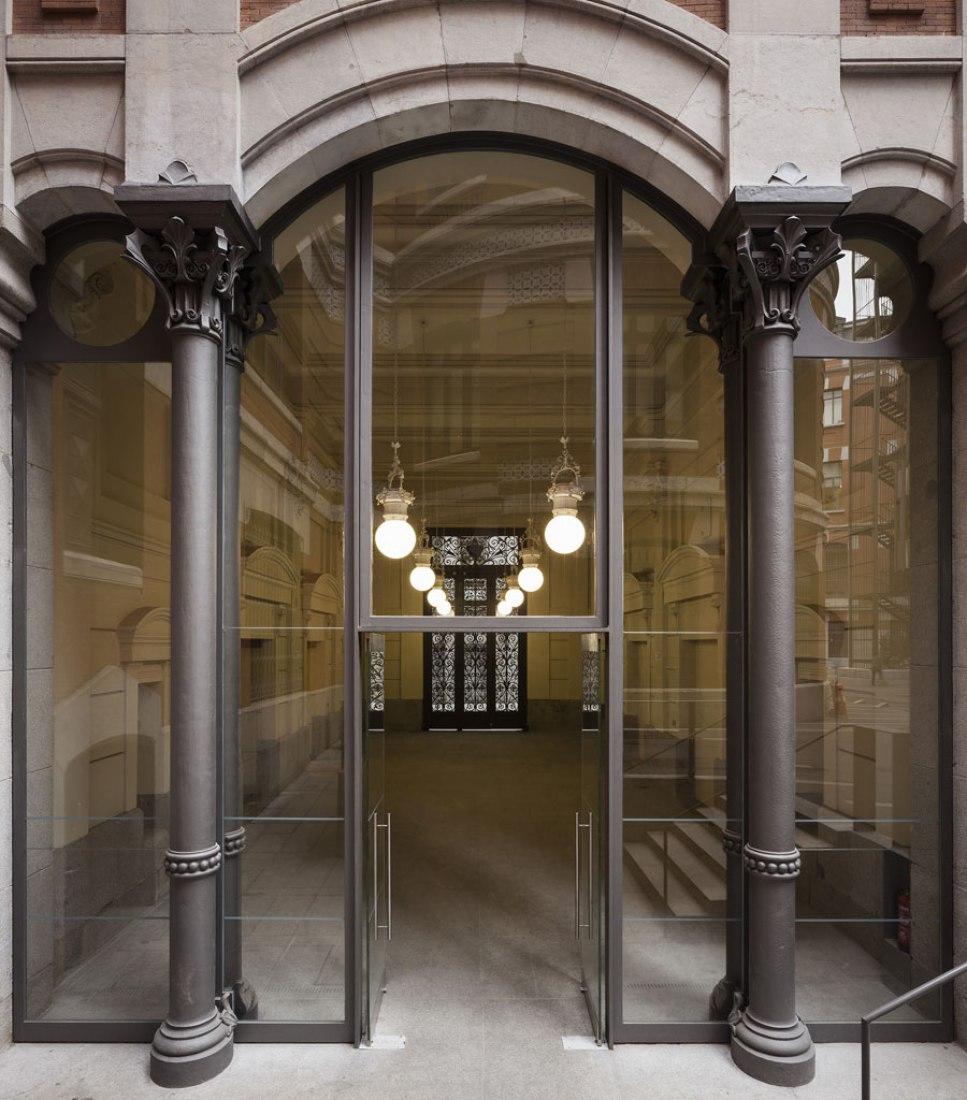 Basement floor. Restoration in Banco de España by Paredes Pedrosa. Photography © Fernando Alda.