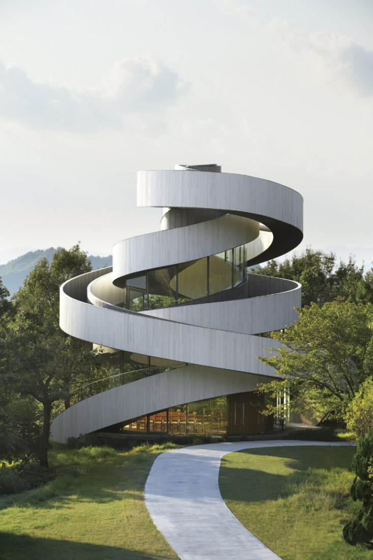 Ribbon chapel by Hiroshi Nakamura and NAP Architects | The Strength of  Architecture | From 1998
