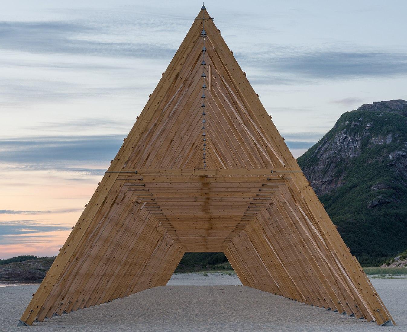 Estructuras principal. Fotografía © Rintala Eggertsson Architects.