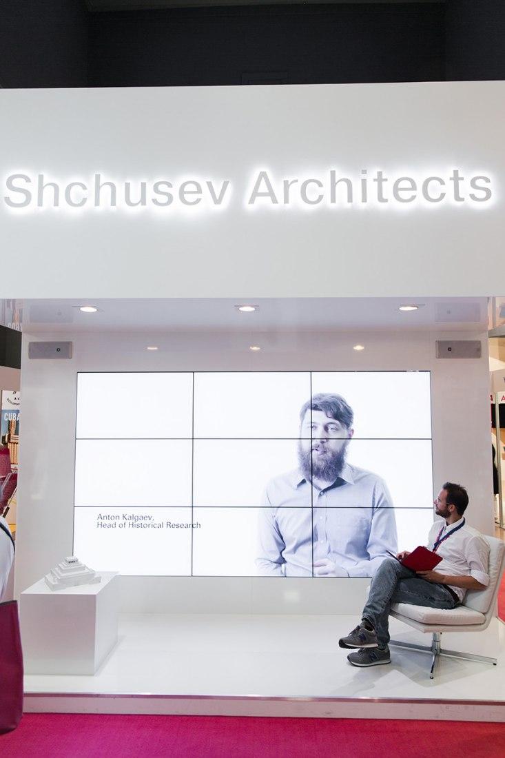 RUSSIA. Fair Enough: Russia's past our Present. 14th International Architecture Exhibition, Fundamentals, la Biennale di Venezia. Photo © Nikolay Zverkov. Courtesy of la Biennale di Venezia.