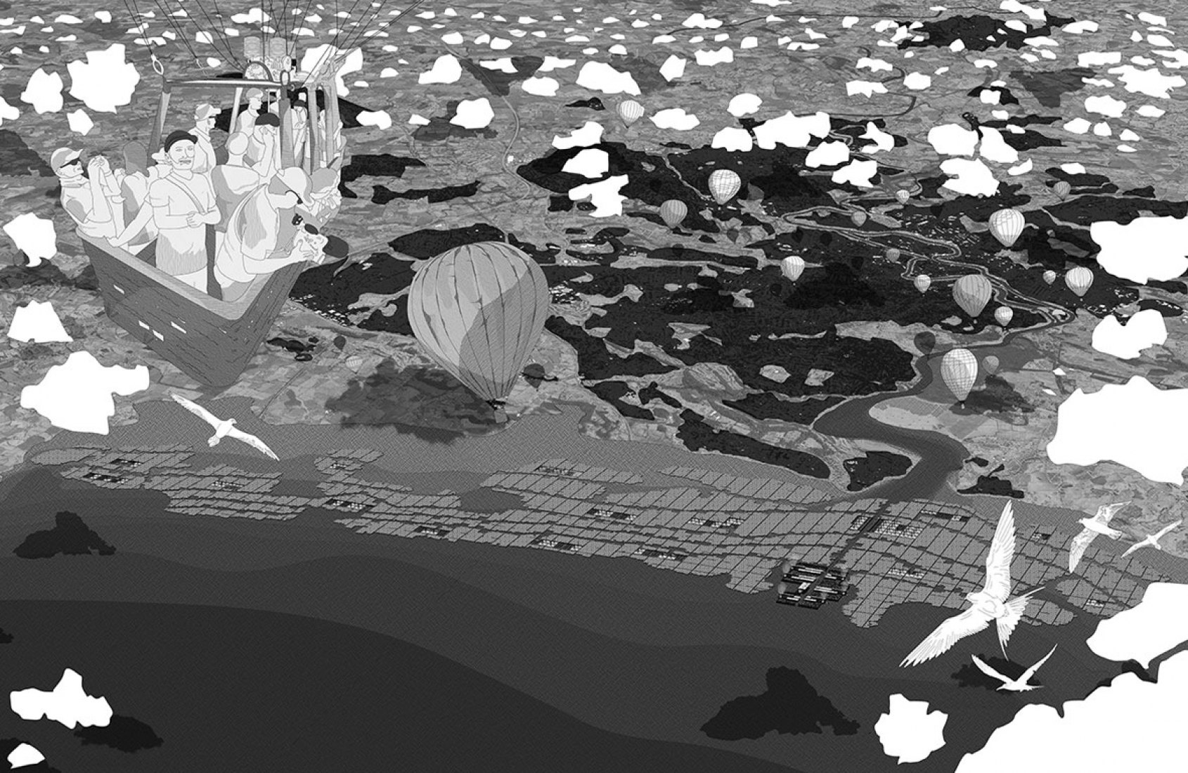'Sea Rise City' por Alfred Hope.