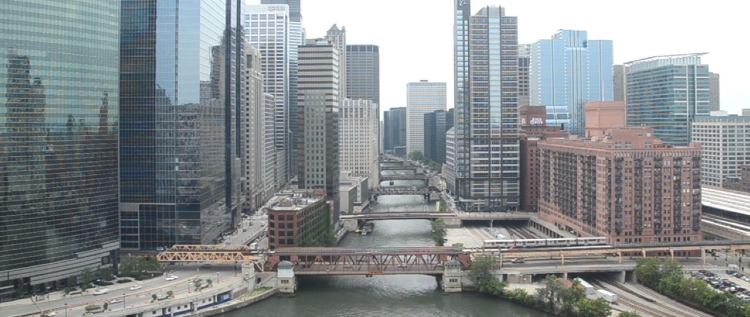 Screenshot of the video Chicago Architecture Biennial by Spirit of Space