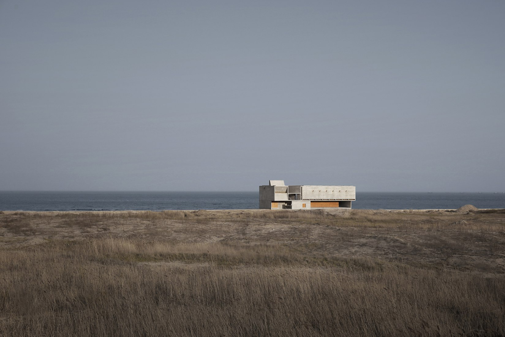 Exterior view of the Seashore Library by Vector Architects. Photography © 苏圣亮 Su Shengliang.