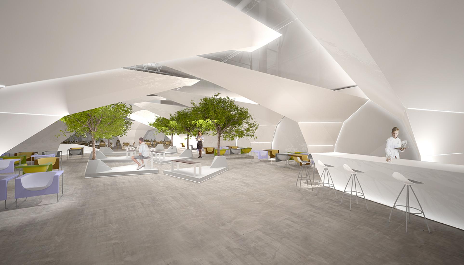 Visualización, Sala VIP, ARCO Madrid 2014 por Emmanuel Romero Arquitectos.