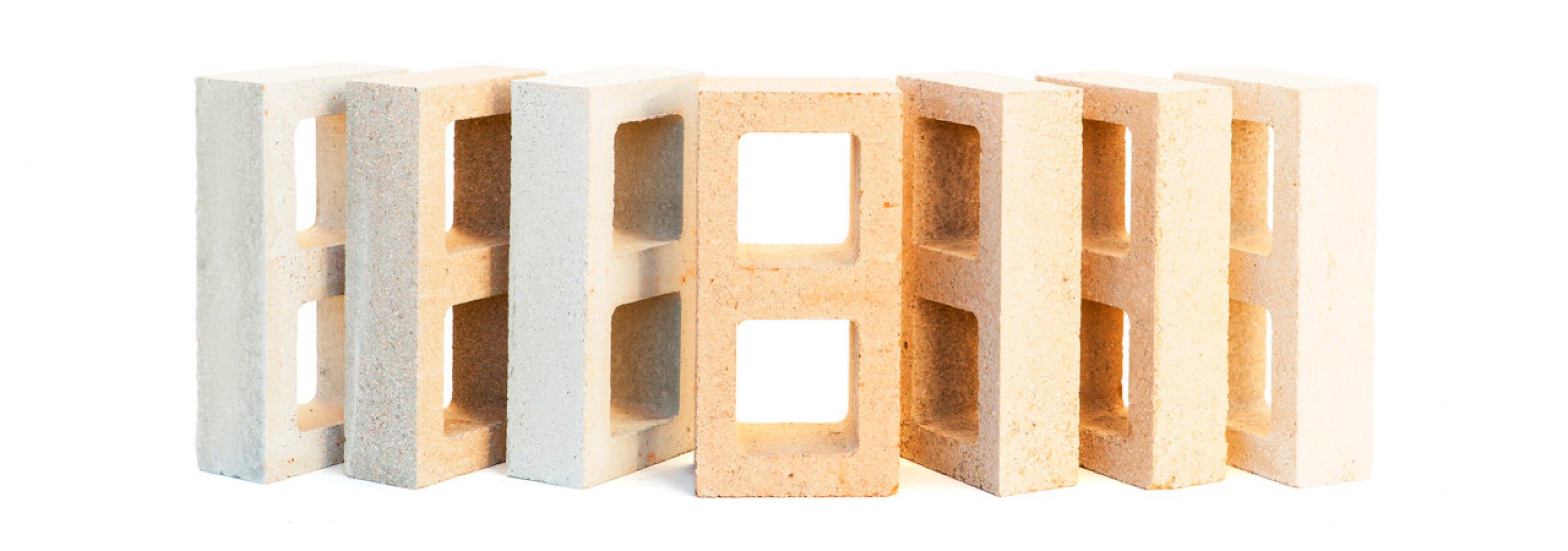 Bloques Watershed Materials. Imagen cortesía de Watershed Materials.