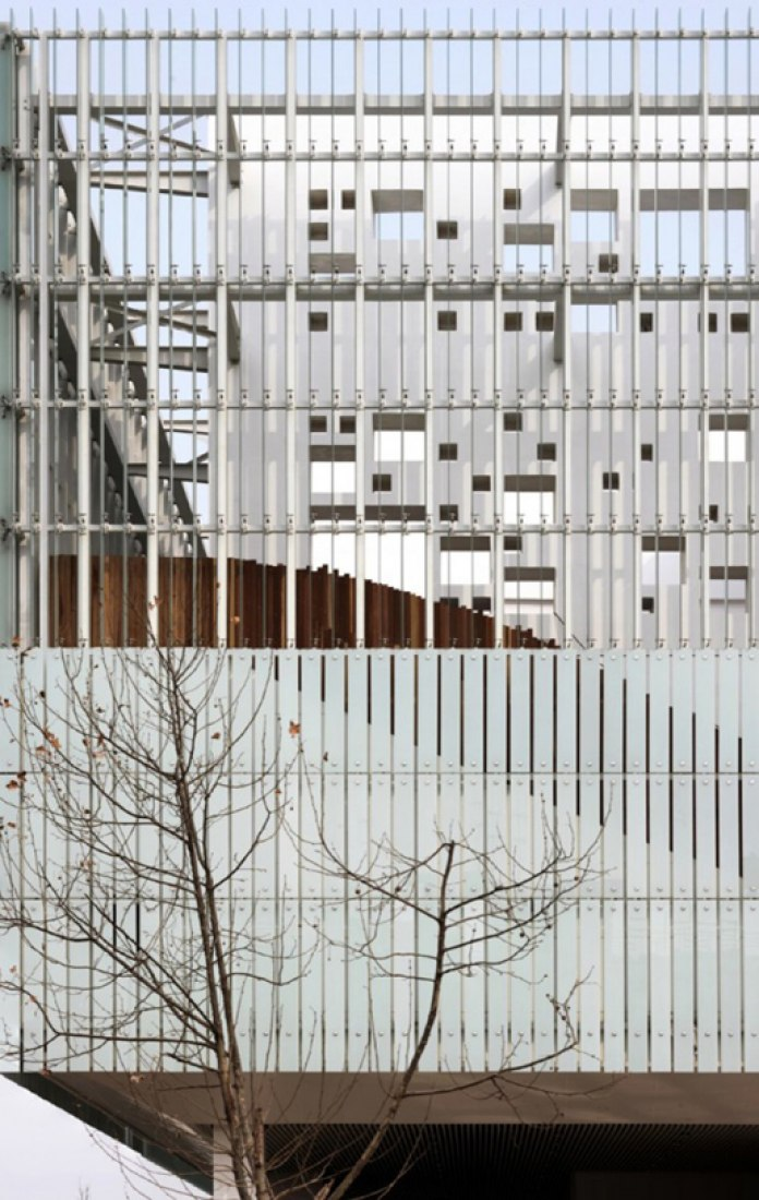 Zhengdong District Urban Planning Exhibition Hall by AZL architects. Photograph by Yao Li