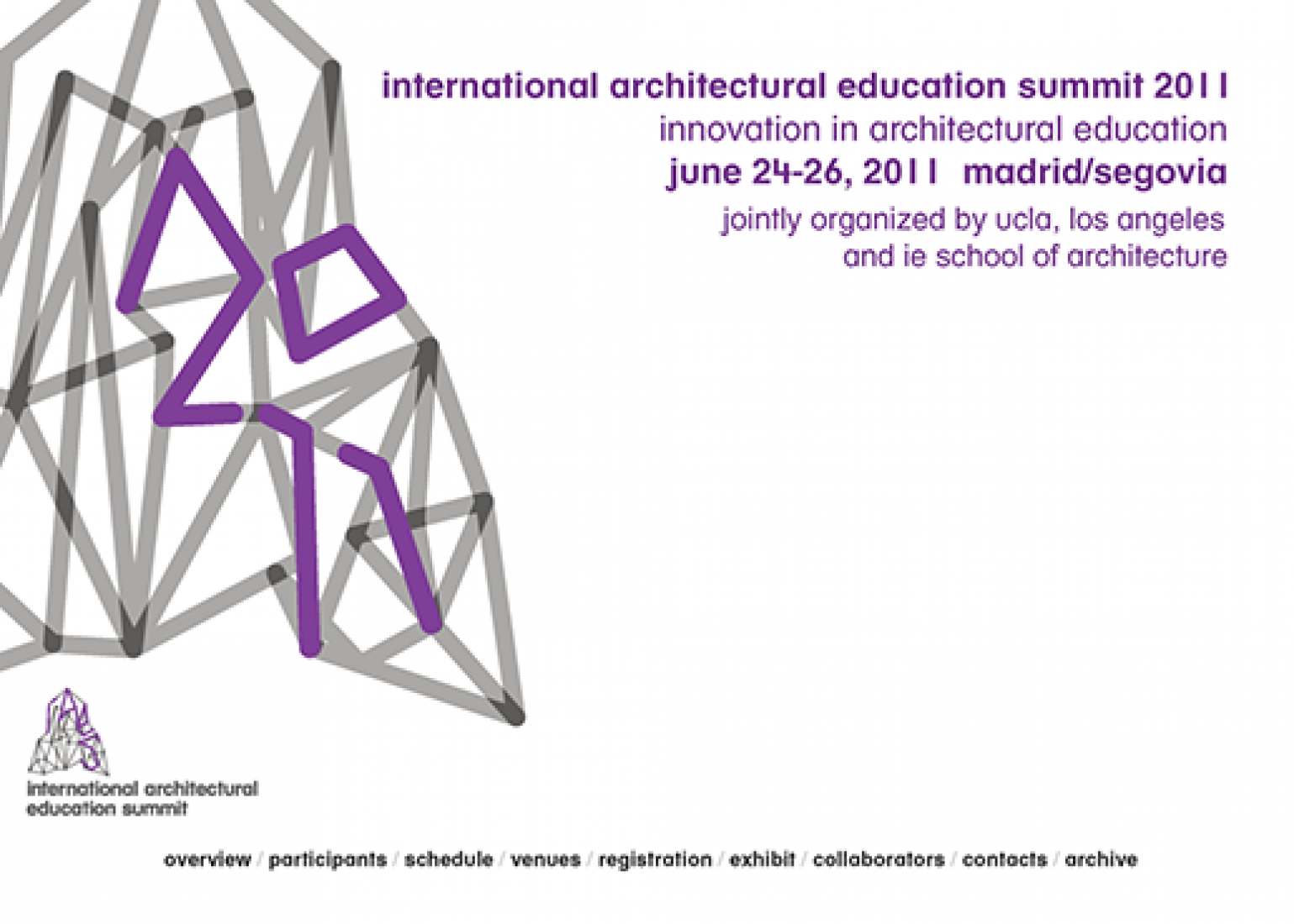International Architectural Education Summit 2011.