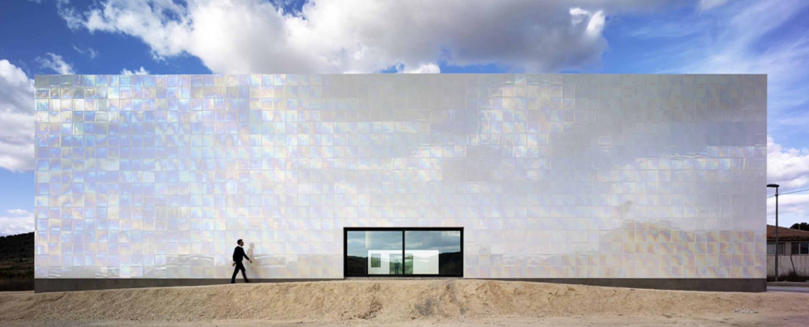 Alzado exterior. Fotografía © C O R  & Asociados.