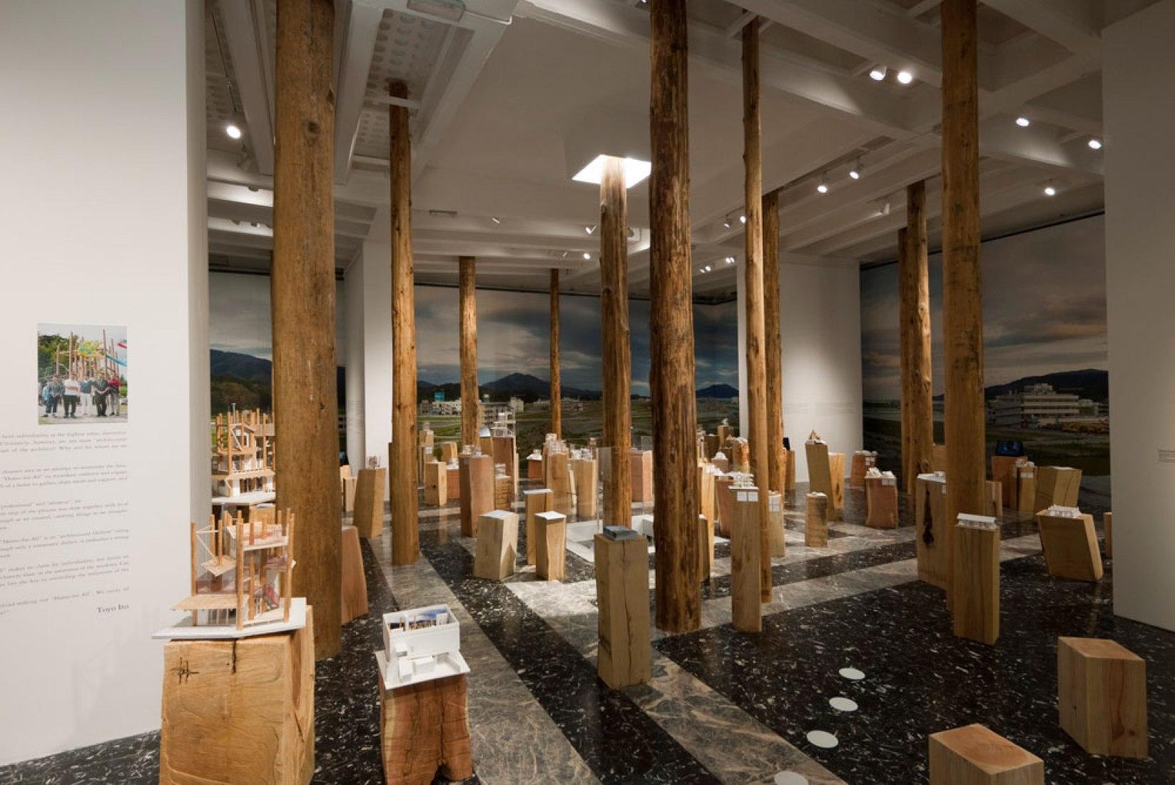 Installation view: Japan Pavilion, 13th International Architecture Exhibition Photography © Naoya Hatakeyama.