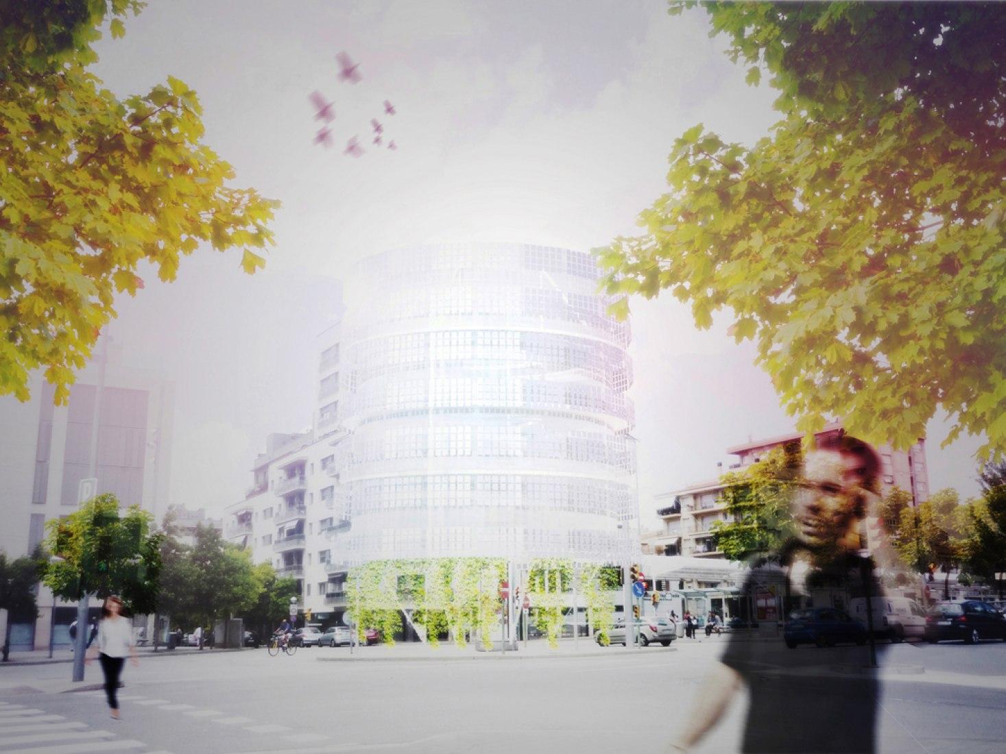 Proyecto Solar Tower. Imagen cortesía de AAIMM Estudio de arquitectura.