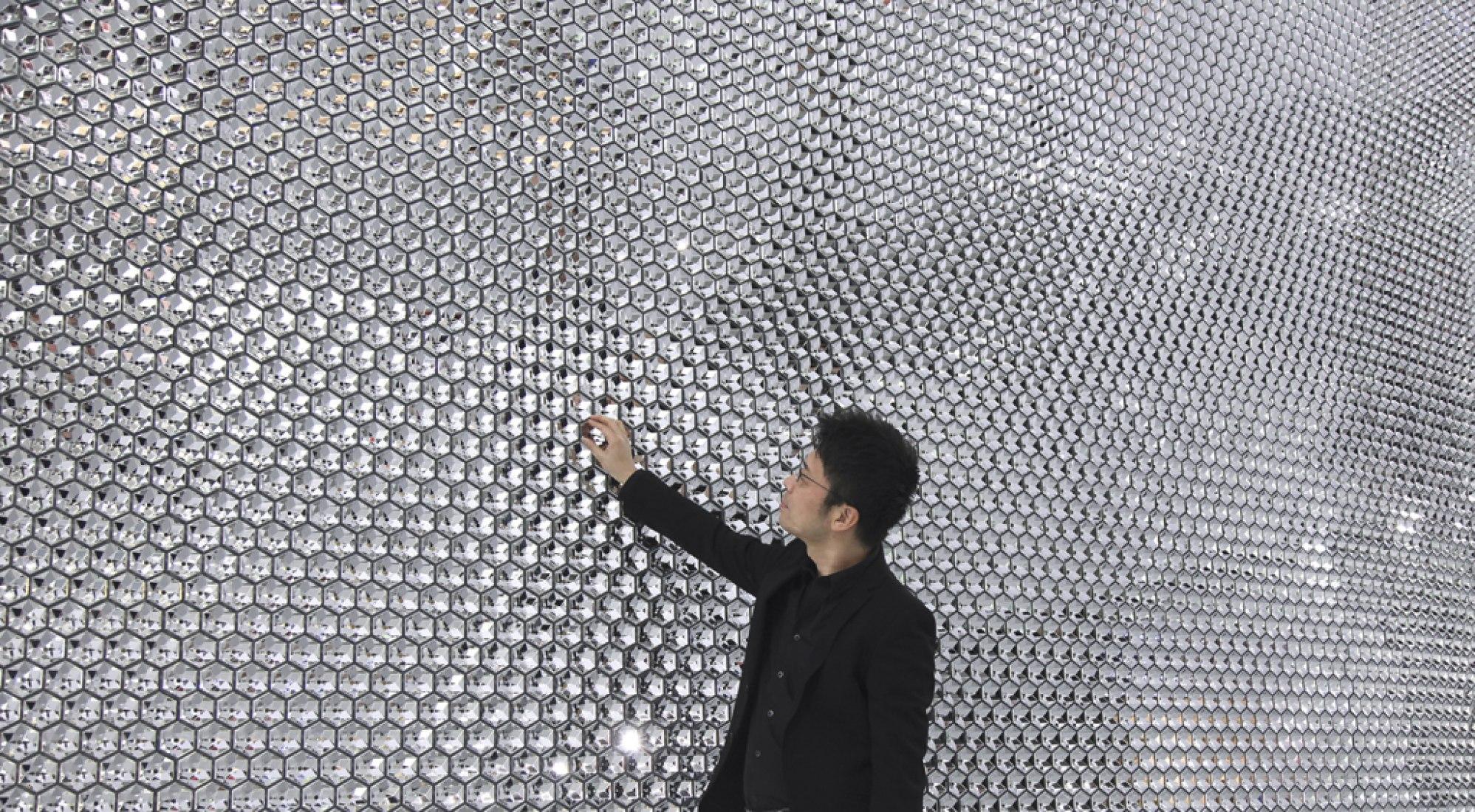 Tokujin Yoshioka in Stand Swarovski at Baselworld 2013. Image © courtesy of Tokujin Yoshioka.