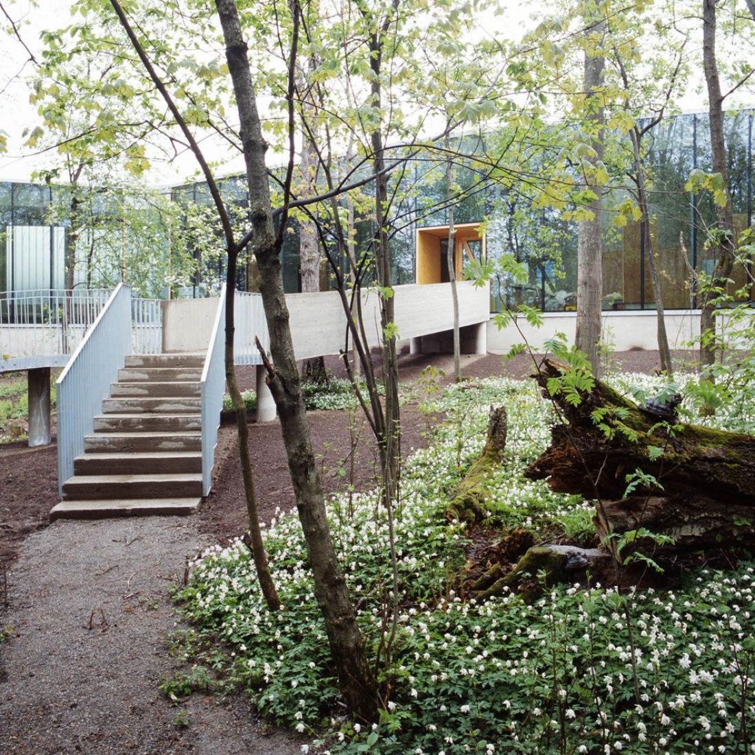 Outside vision. Bjerkebæk Visitors Center. Image © courtesy of Carl-Viggo Hølmebakk.
