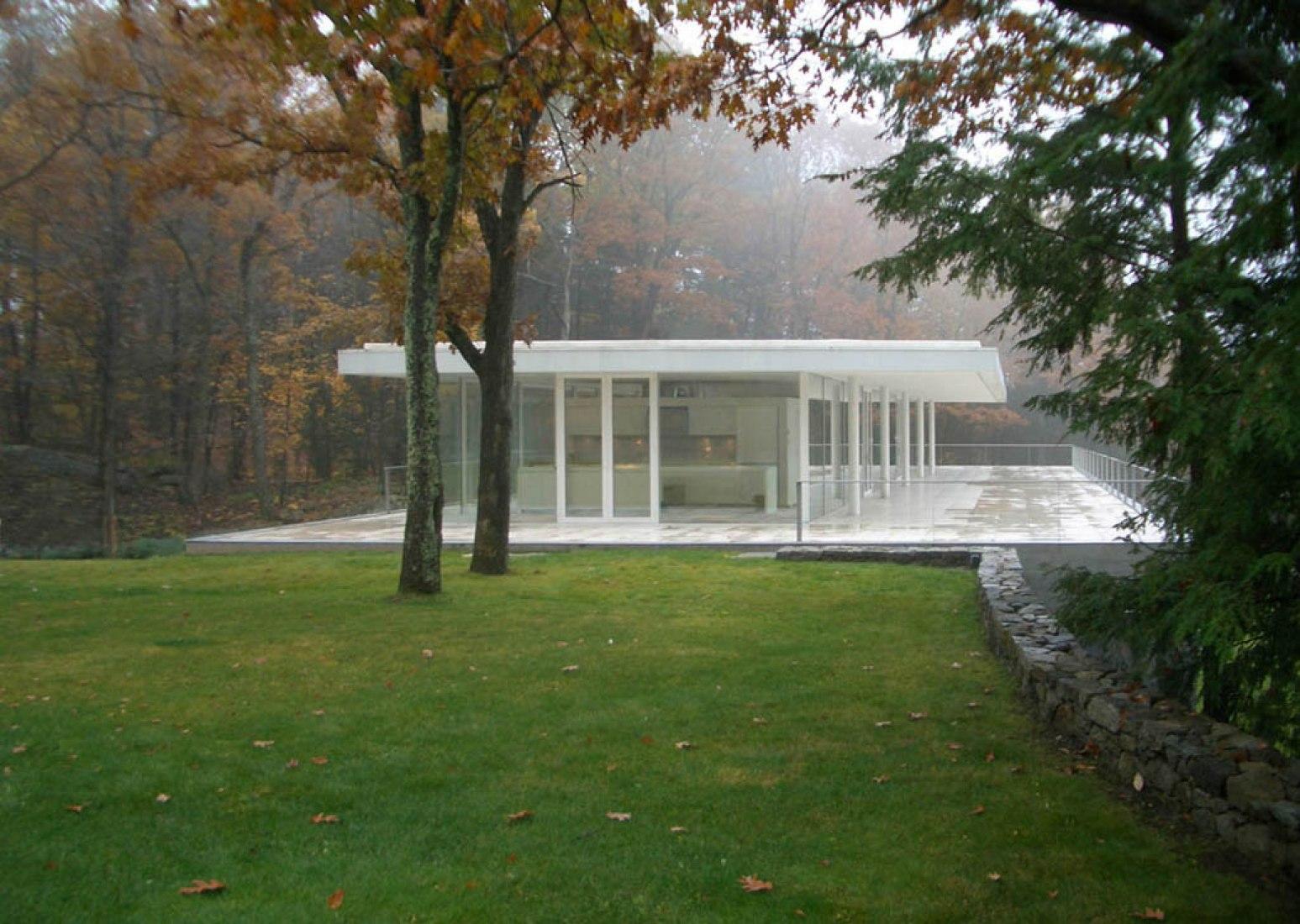 Exterior. Casa Olnick Spanu por Alberto Campo Baeza.