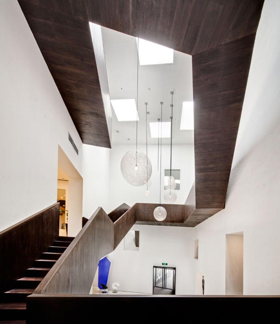Vista interior, Design Republic's Design Collective por Neri&Hu. Fotografía © Shen Zhonghai.