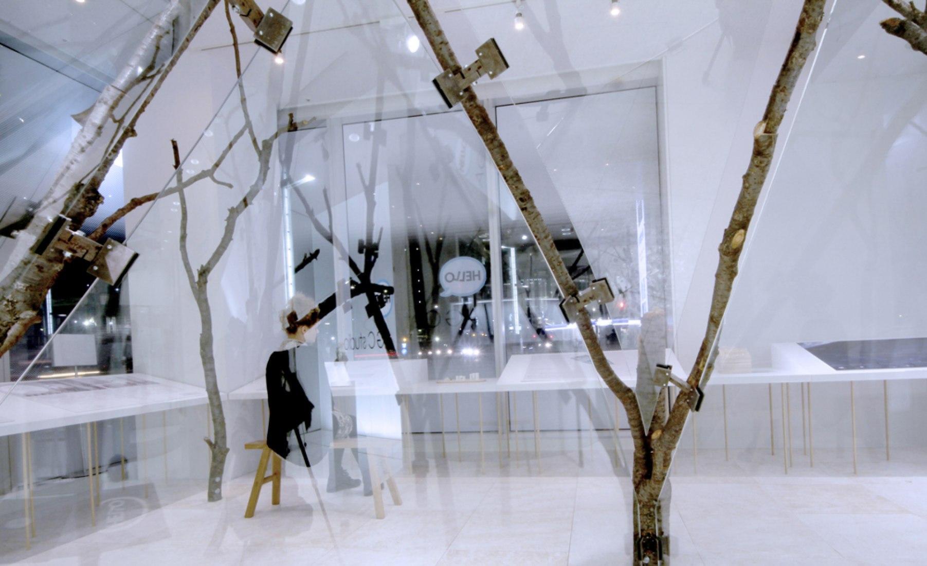 Glass Tea House, 1:1 scale model. Image courtesy of © KATOxVictoria.